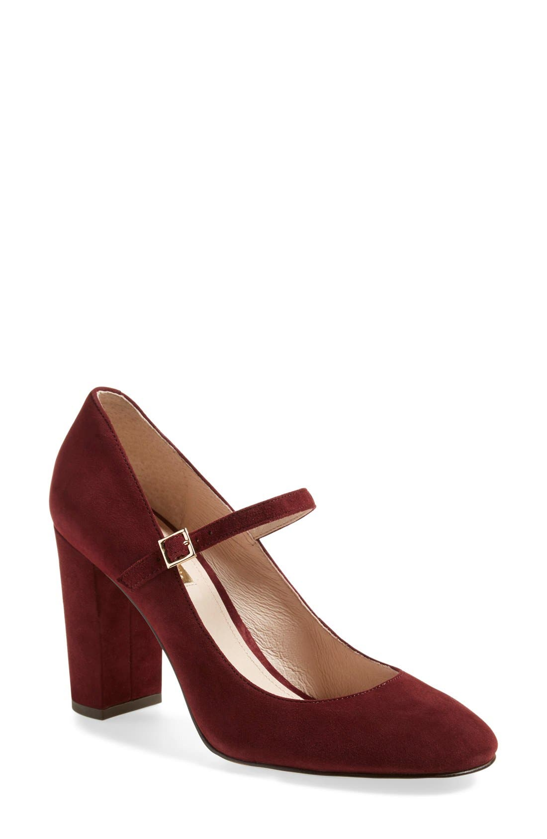 Alternate Image 1 Selected - Louise et Cie 'Jayde' Mary Jane Block Heel Pump (Women) (Nordstrom Exclusive)