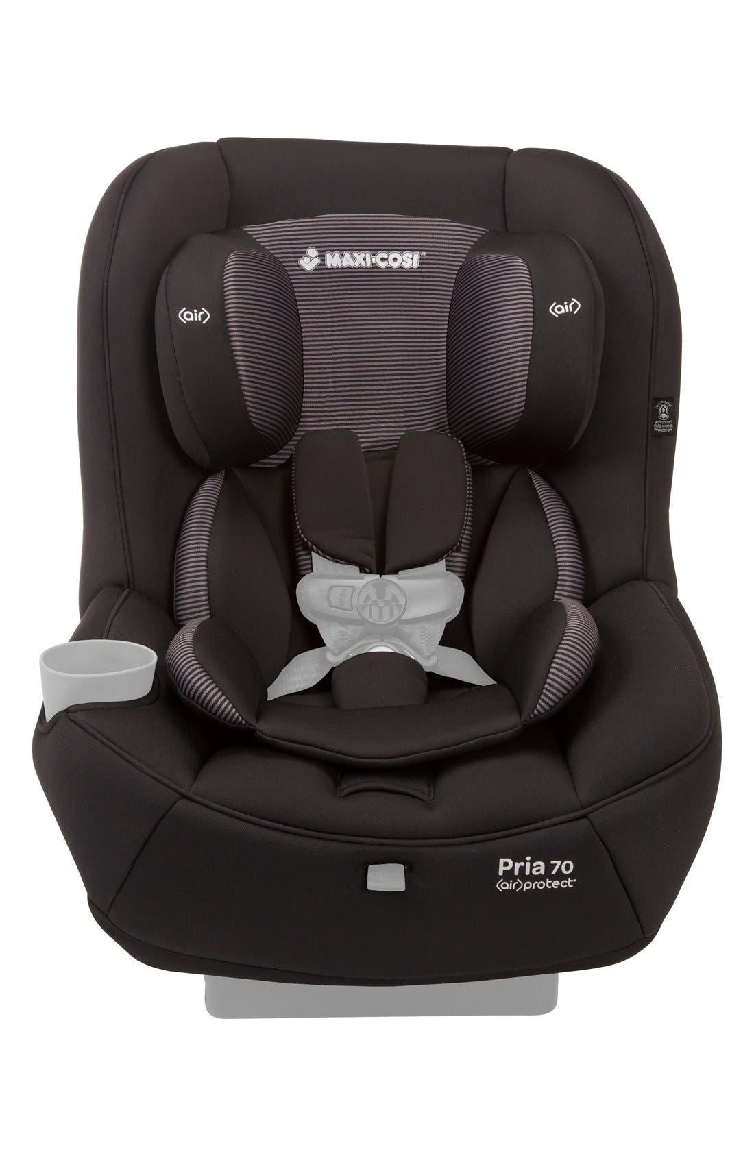 Seat Pad Fashion Kit for Pria<sup>™</sup> 70 Car Seat,                             Main thumbnail 1, color,                             Black Gravel