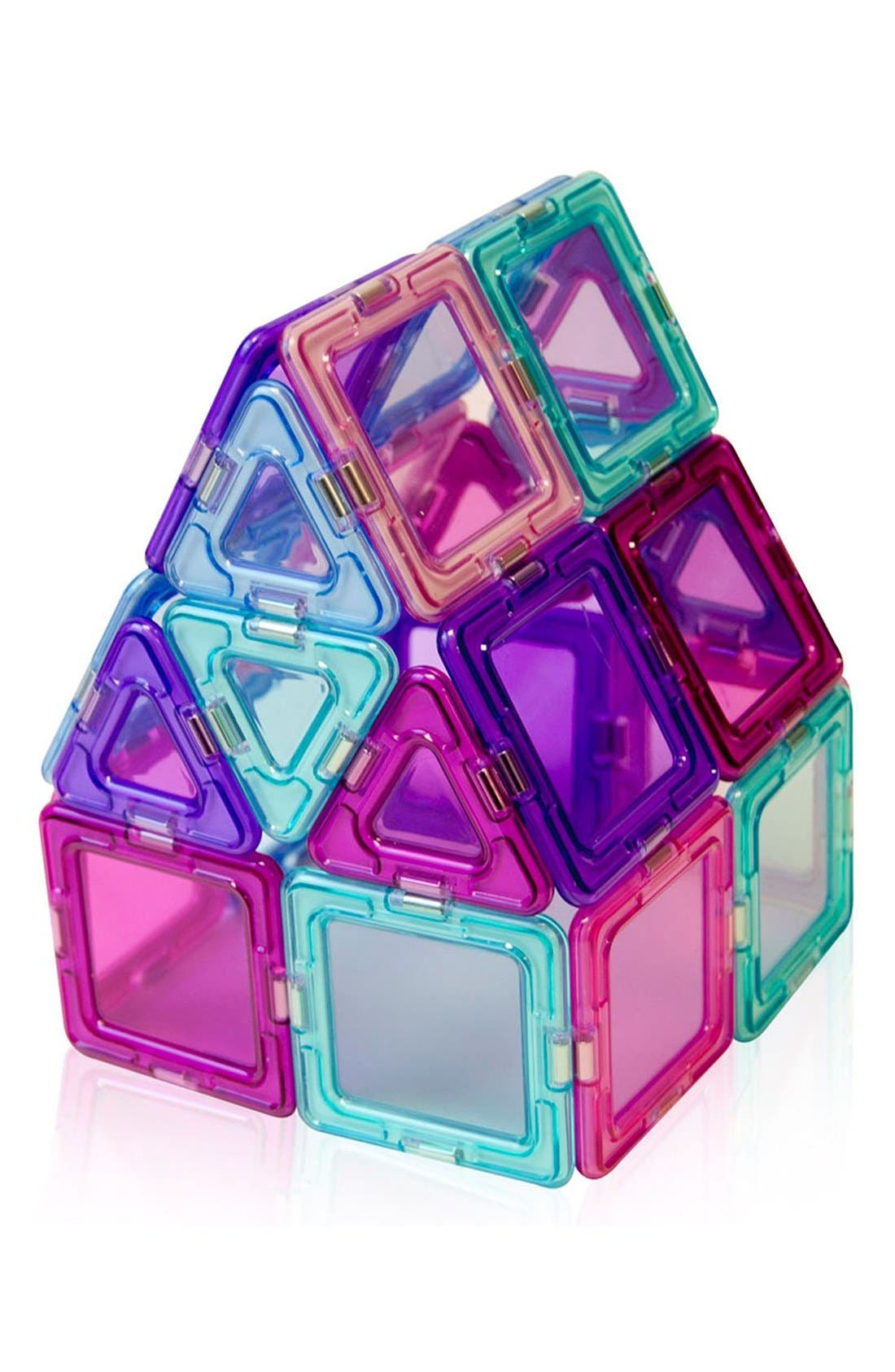 Alternate Image 2  - Magformers 'Inspire - Solids' Clear Magnetic 3D Construction Set