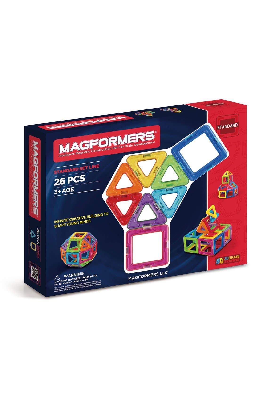 'Standard' Magnetic 3D Construction Set,                             Main thumbnail 1, color,                             Rainbow