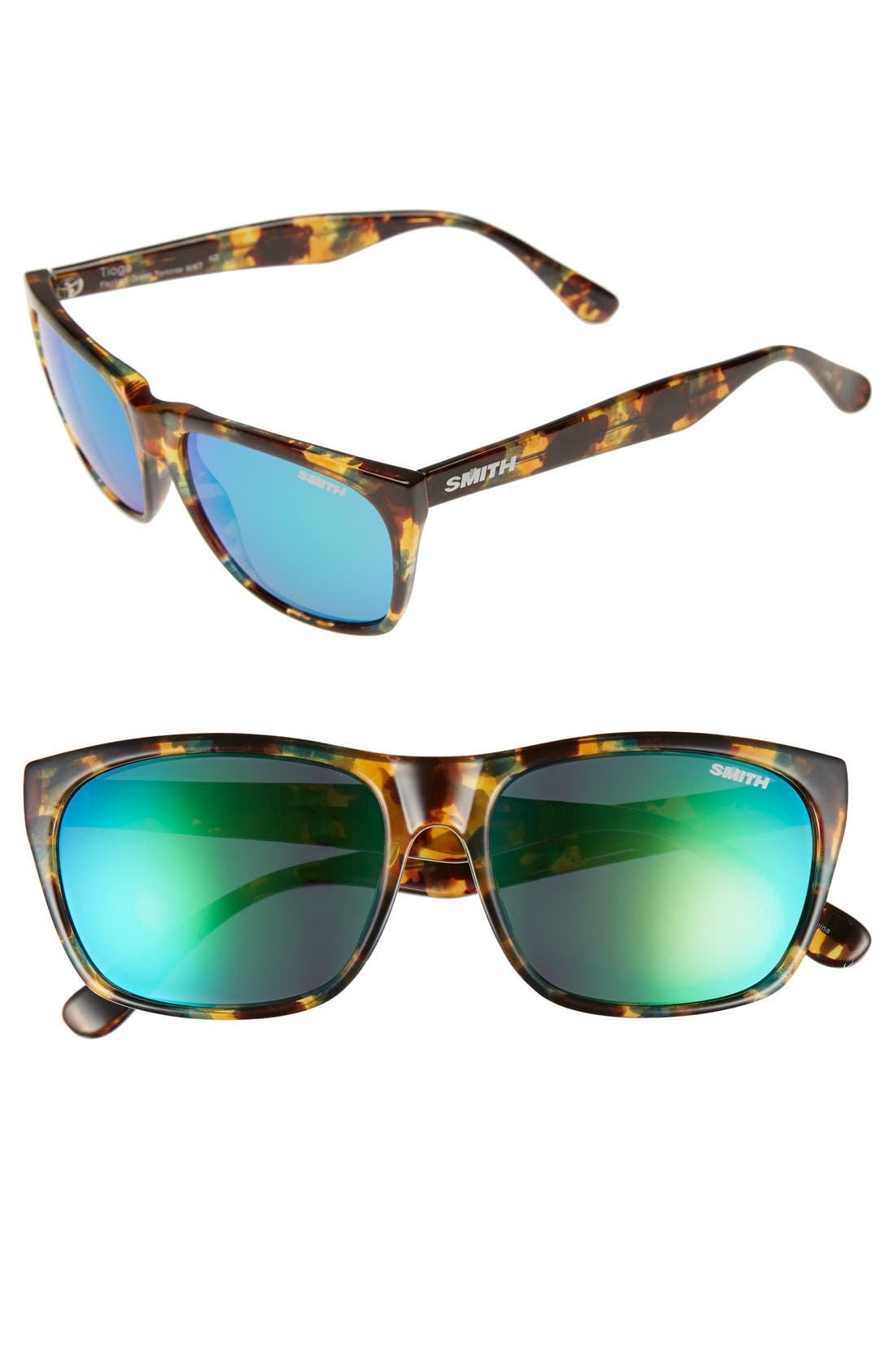 Main Image - Smith 'Tioga' 57mm Polarized Sunglasses
