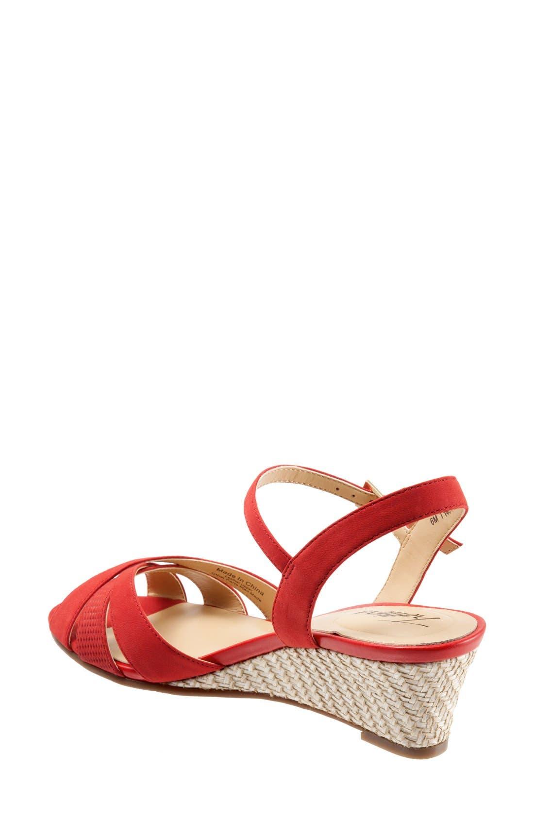 Alternate Image 2  - Trotters 'Mickey' Wedge Sandal (Women)
