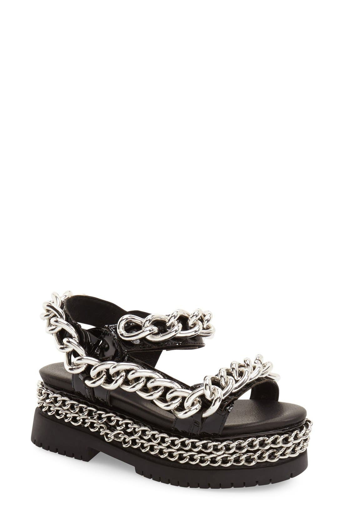 Alternate Image 1 Selected - Jeffrey Campbell 'Mayview' Platform Sandal (Women)