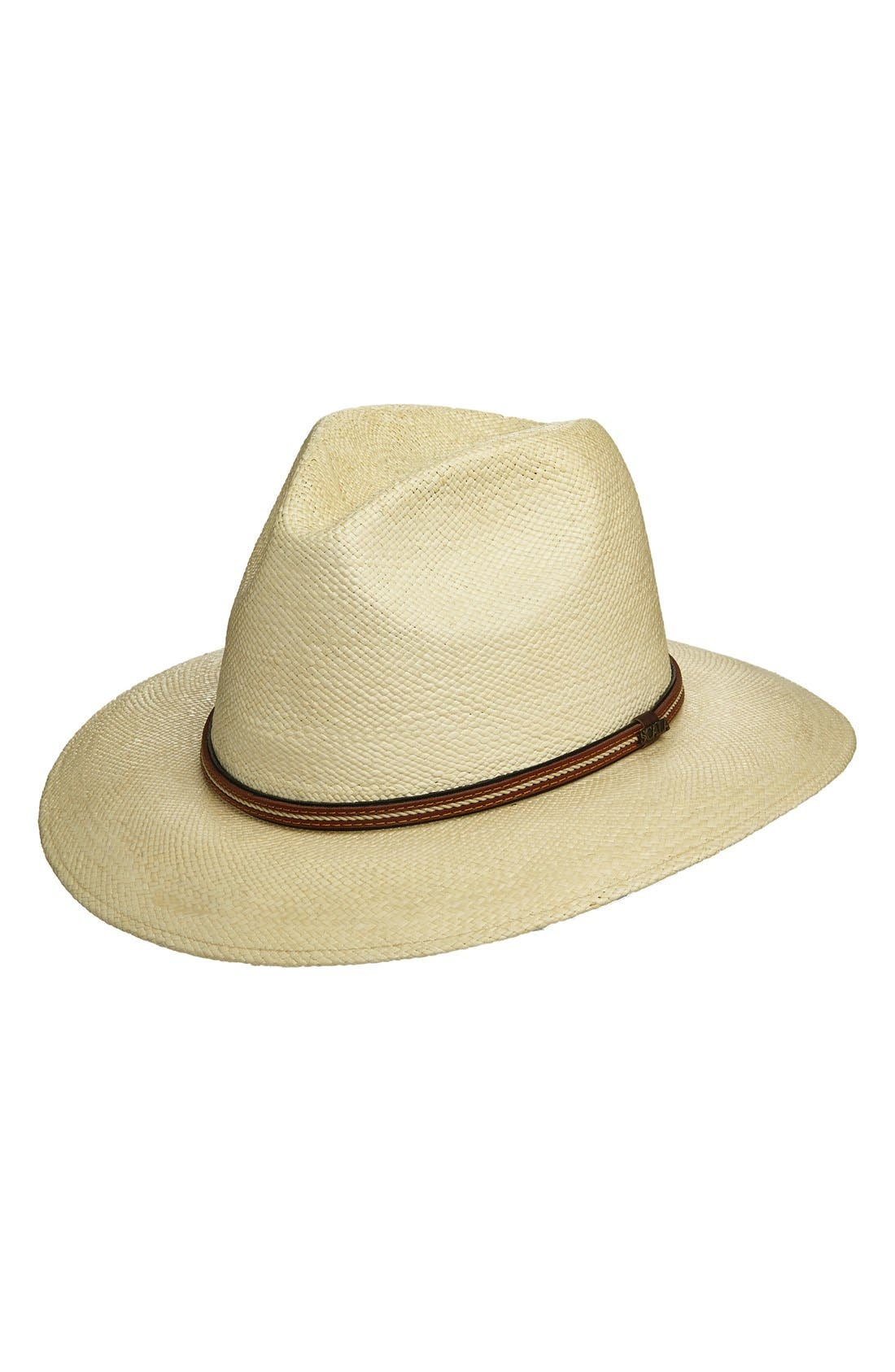SCALA Straw Safari Hat