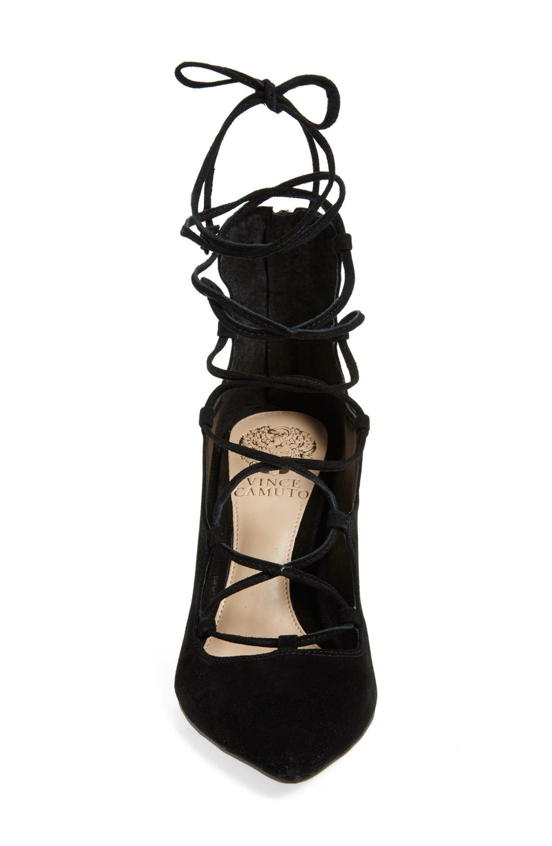 Alternate Image 3  - Vince Camuto 'Barsha' Lace-up Pump (Women) (Nordstrom Exclusive)