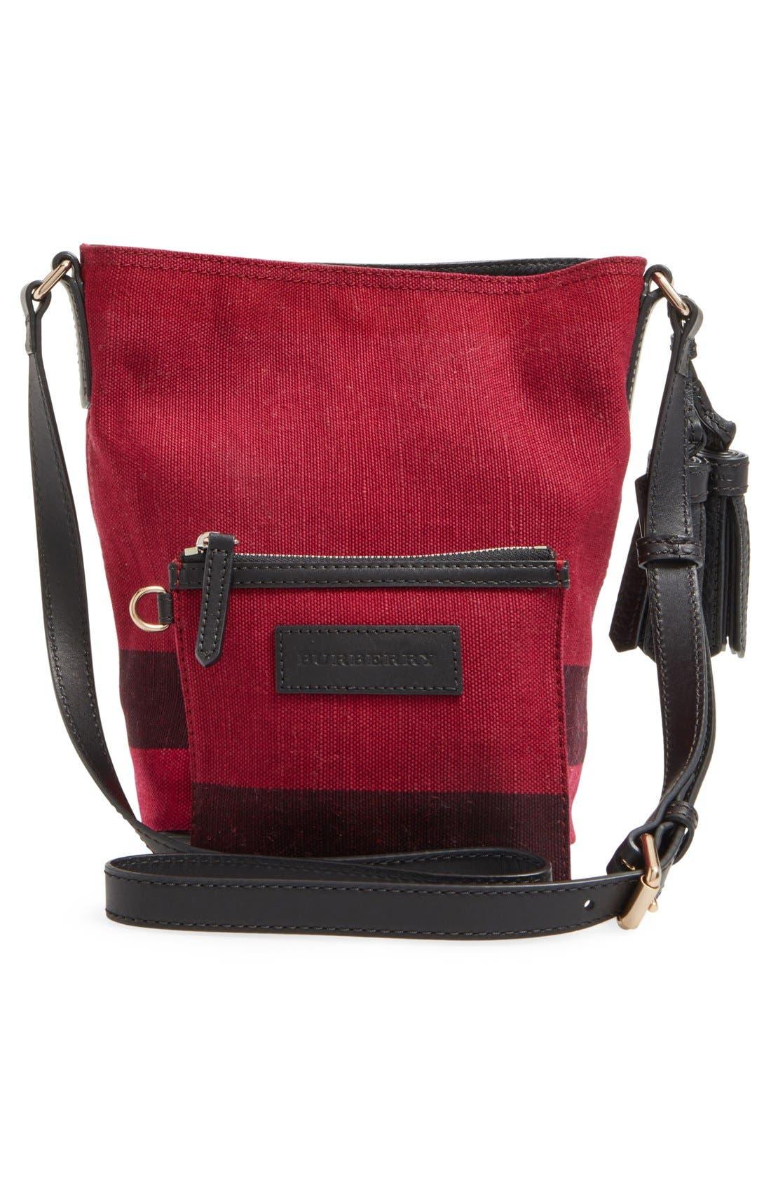 Alternate Image 3  - Burberry 'Mini Ashby' Bucket Bag