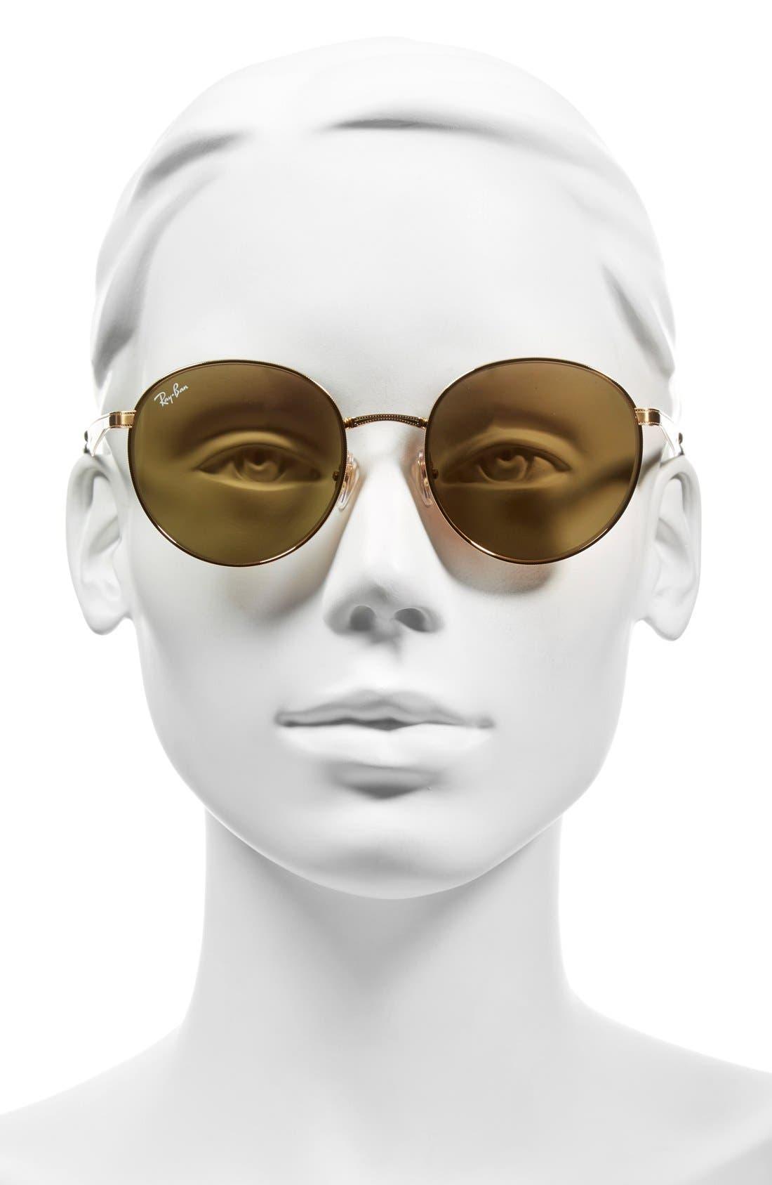 Alternate Image 2  - Ray-Ban Highstreet 51mm Round Sunglasses