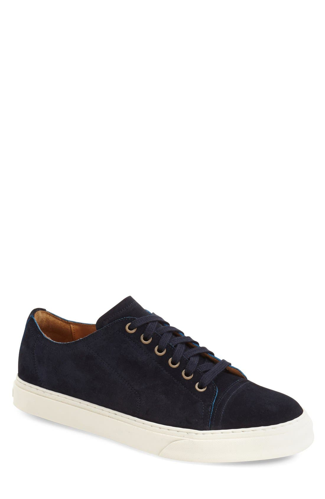 'Quort' Sneaker,                             Main thumbnail 1, color,                             Navy Suede