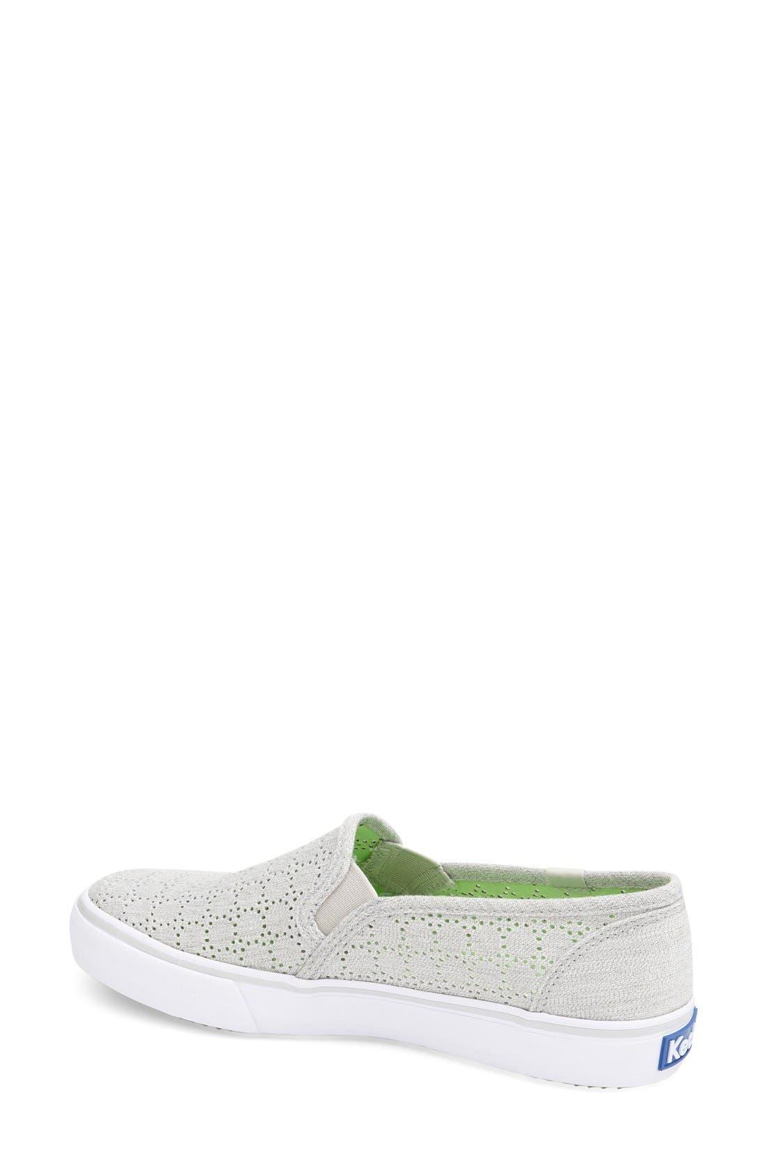 Alternate Image 2  - Keds® 'Double Decker' Perforated Slip-On Sneaker (Women)