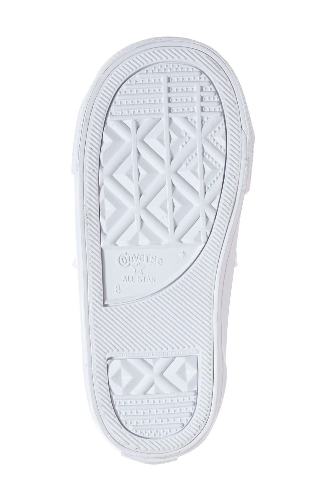 Alternate Image 4  - Converse Chuck Taylor® All Star® Ox Faux Leather Sneaker (Toddler, Little Kid & Big Kid)