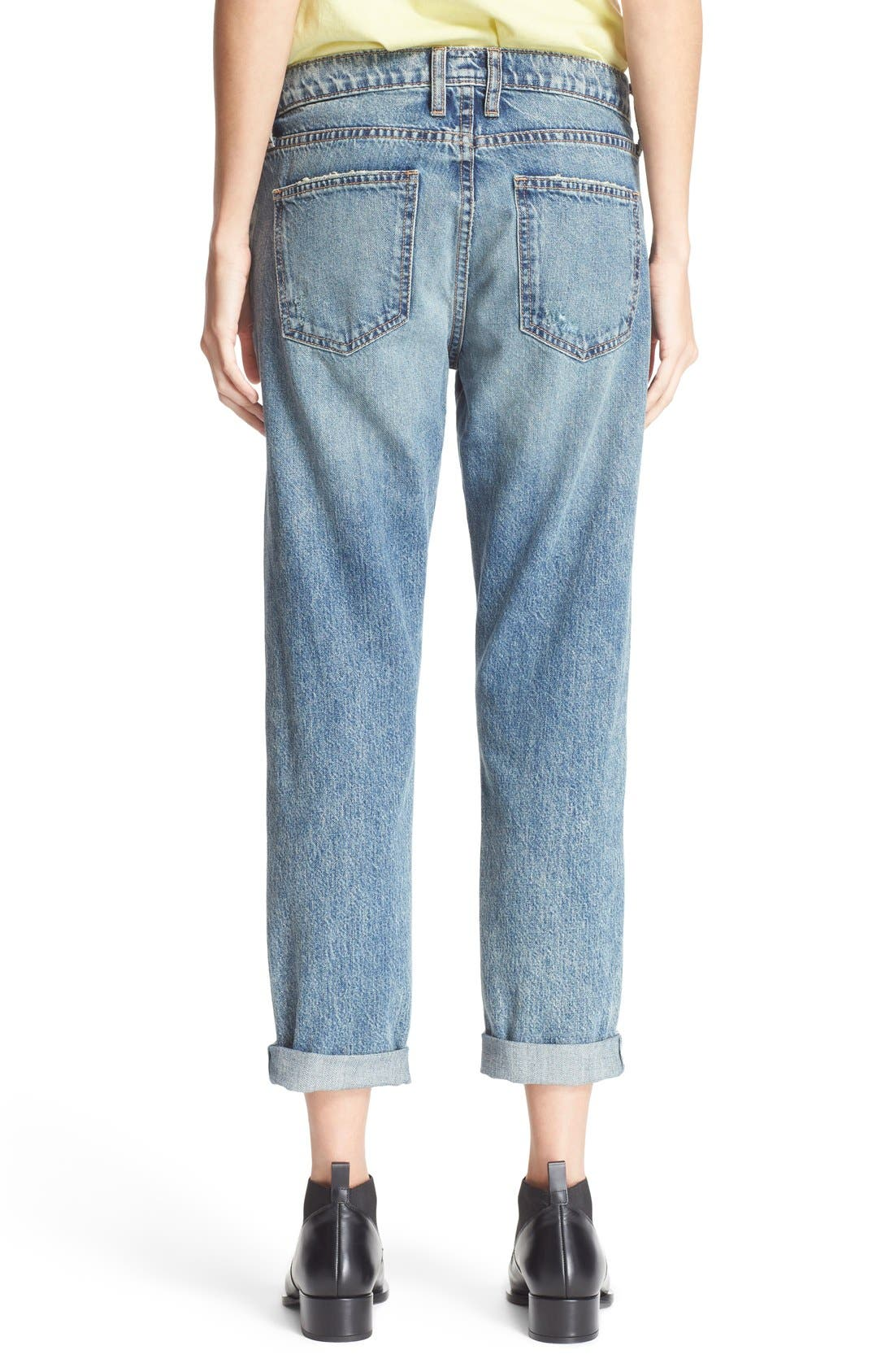 Alternate Image 2  - Current/Elliott 'The Fling' Jeans (Bedford Destroyed)