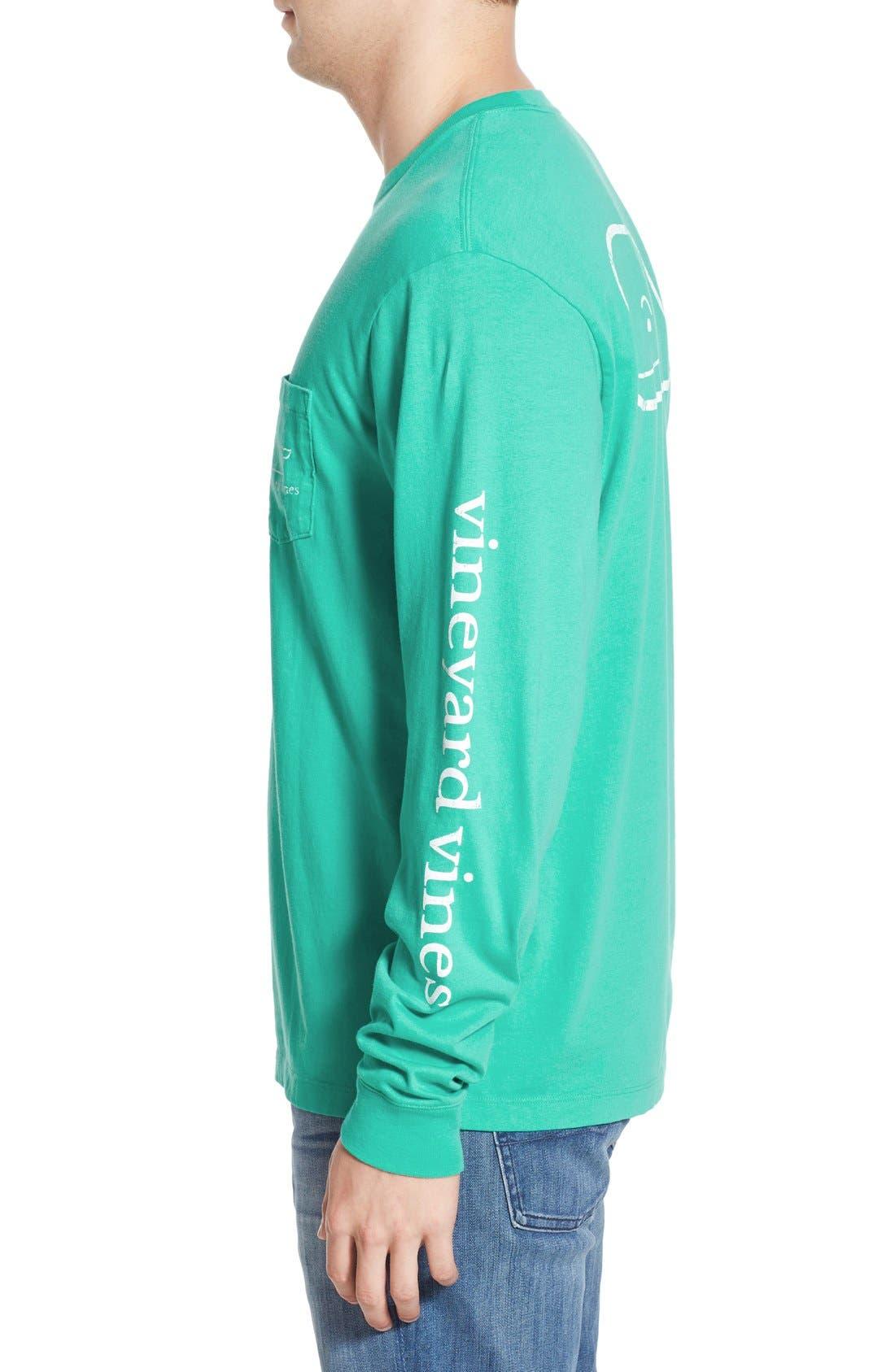Alternate Image 3  - vineyard vines Pocket Long Sleeve T-Shirt