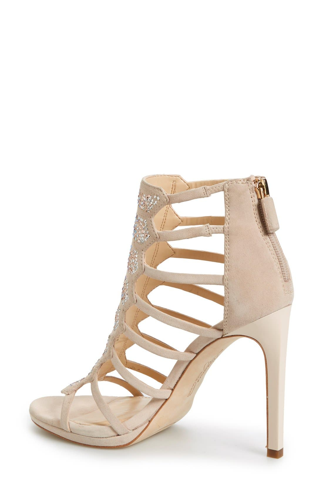 Alternate Image 2  - Imagine Vince Camuto 'Gavin' Embellished Cage Sandal (Women)