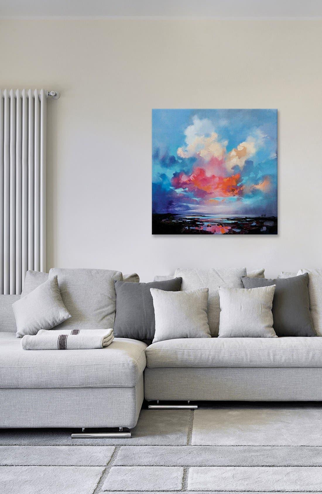 'Diffusion' Giclée Print Canvas Art,                             Alternate thumbnail 2, color,                             Blue