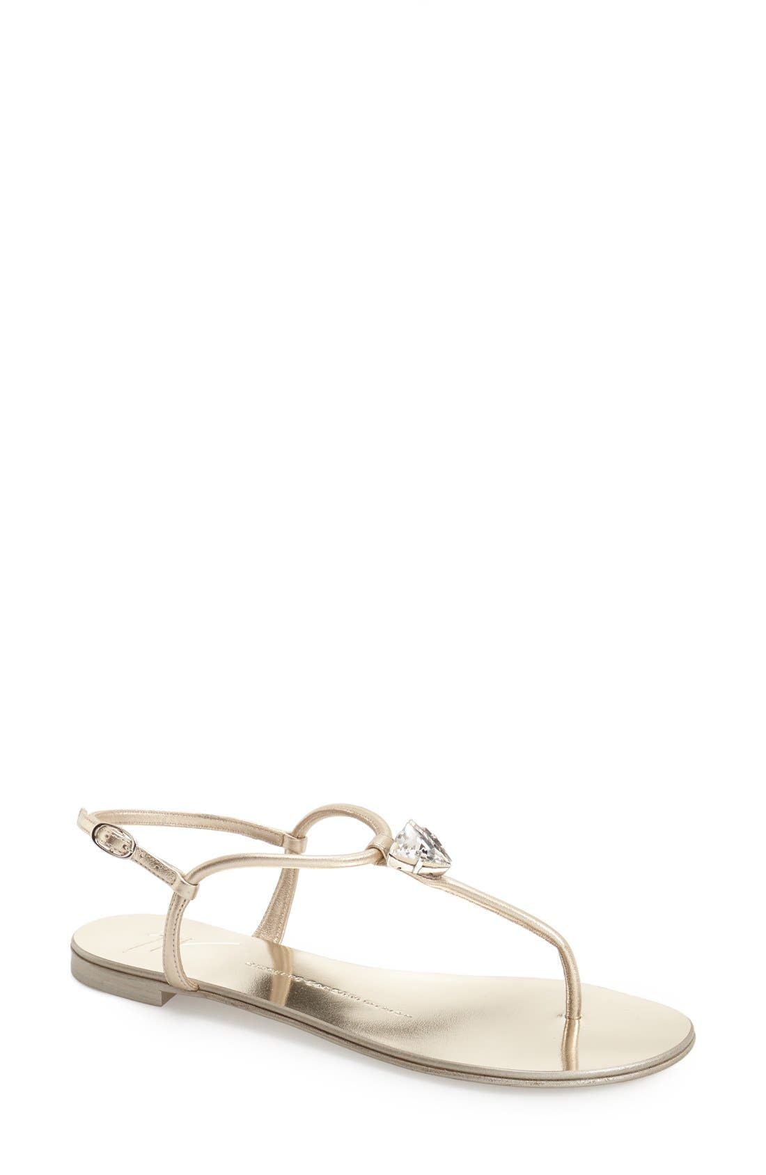 Alternate Image 1 Selected - Giuseppe Zanotti Nuvorock Sandal (Women) (Nordstrom Exclusive)
