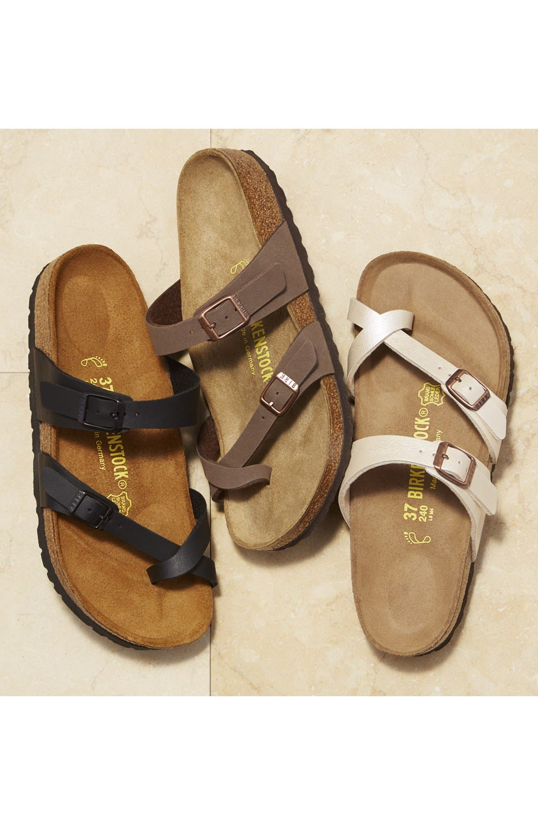 'Mayari' Birko-Flor<sup>™</sup> Sandal,                             Alternate thumbnail 7, color,