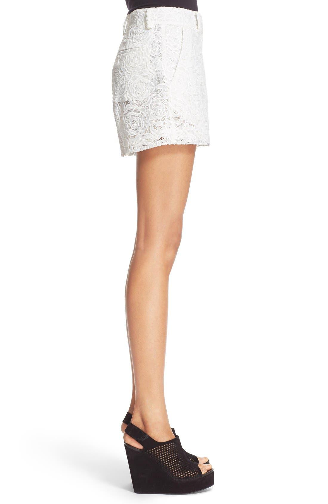 Alternate Image 3  - McQ Alexander McQueen Lace Shorts