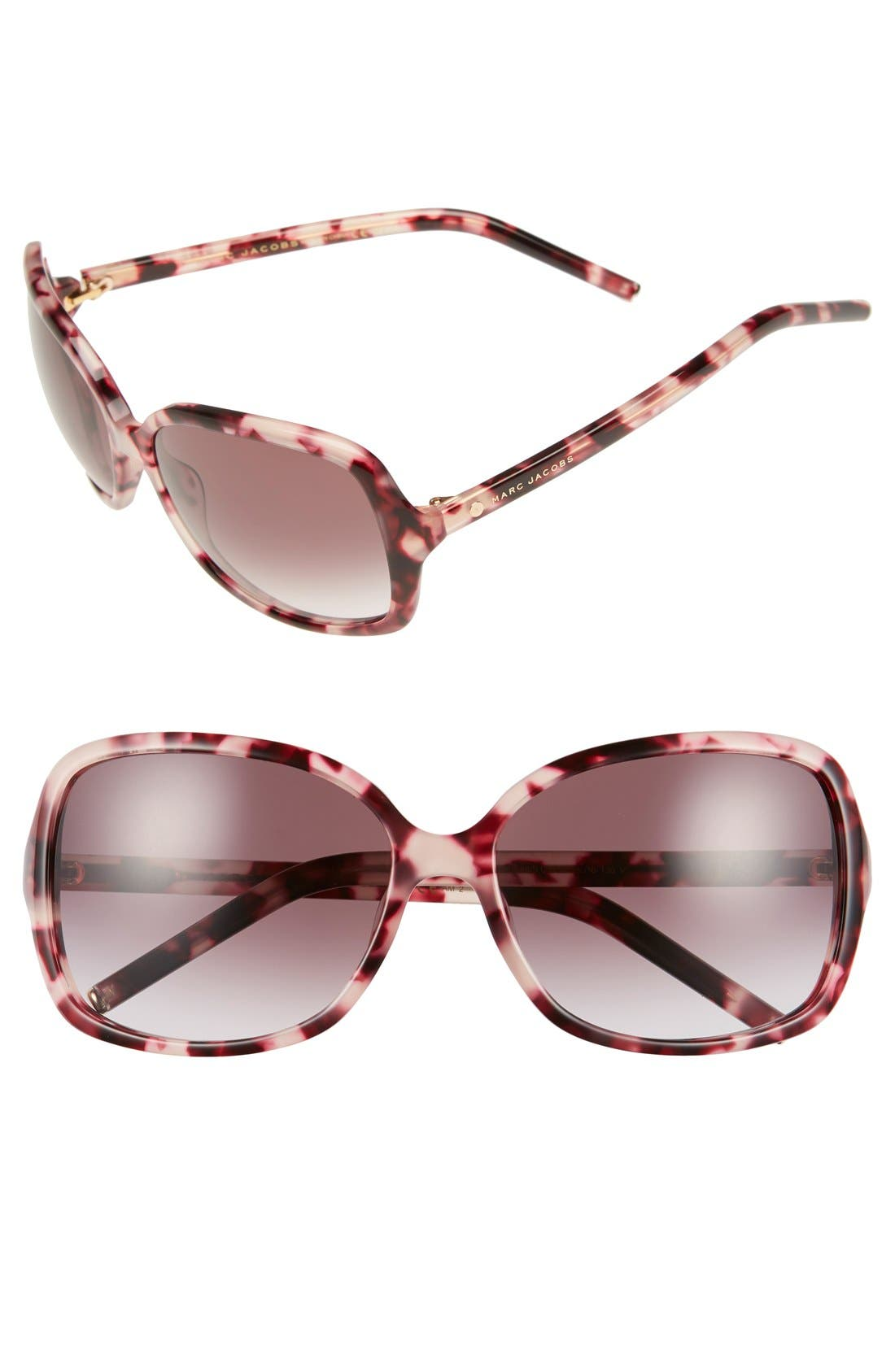 MARC JACOBS 59mm Oversized Sunglasses