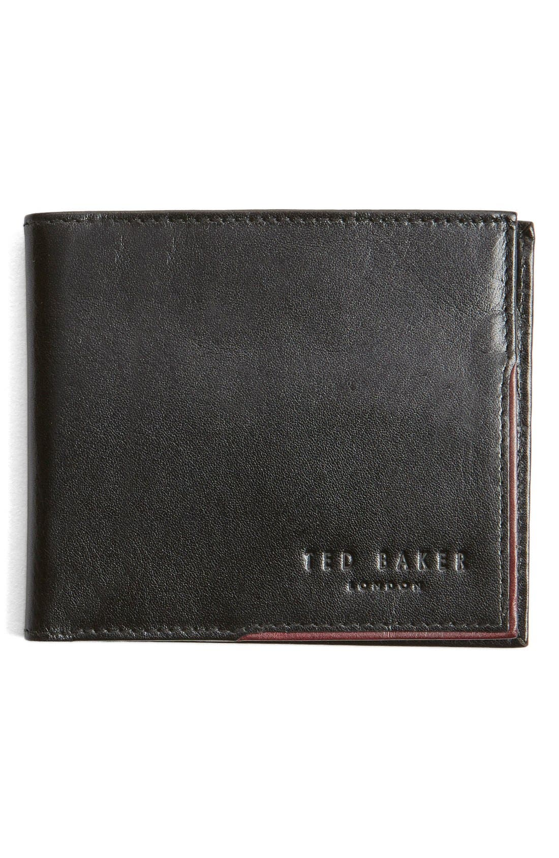 Main Image - Ted Baker London Carouse Bifold Leather Wallet