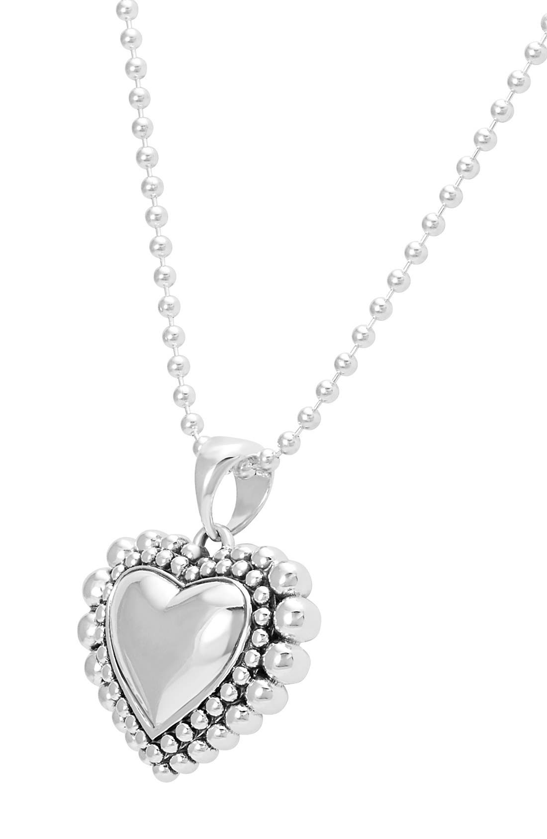 Alternate Image 2  - LAGOS Long Heart Pendant Necklace