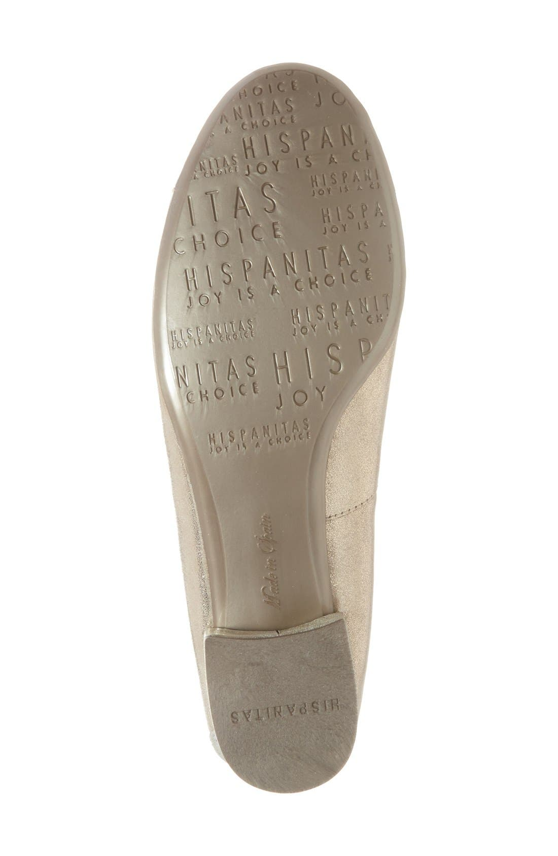 Alternate Image 4  - Hispanitas 'Cali' Metallic Cap Toe Pump (Women)