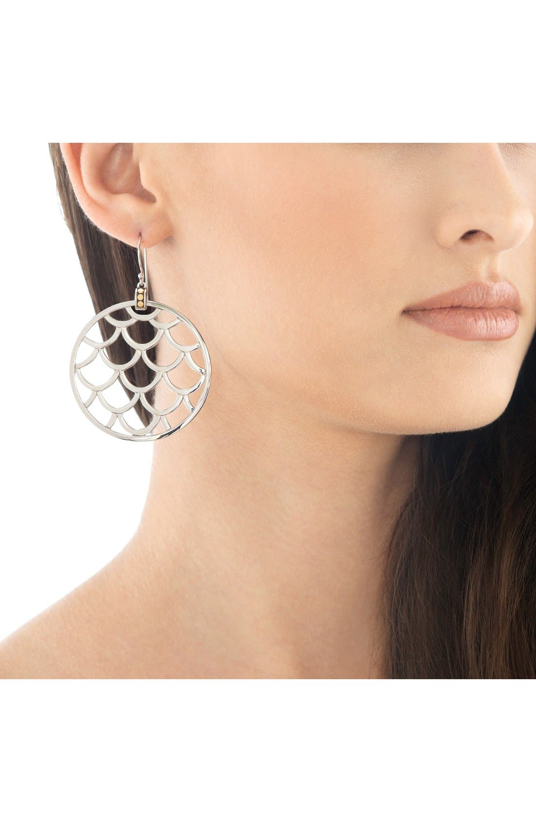 Alternate Image 2  - John Hardy 'Legends' Large Round Drop Earrings