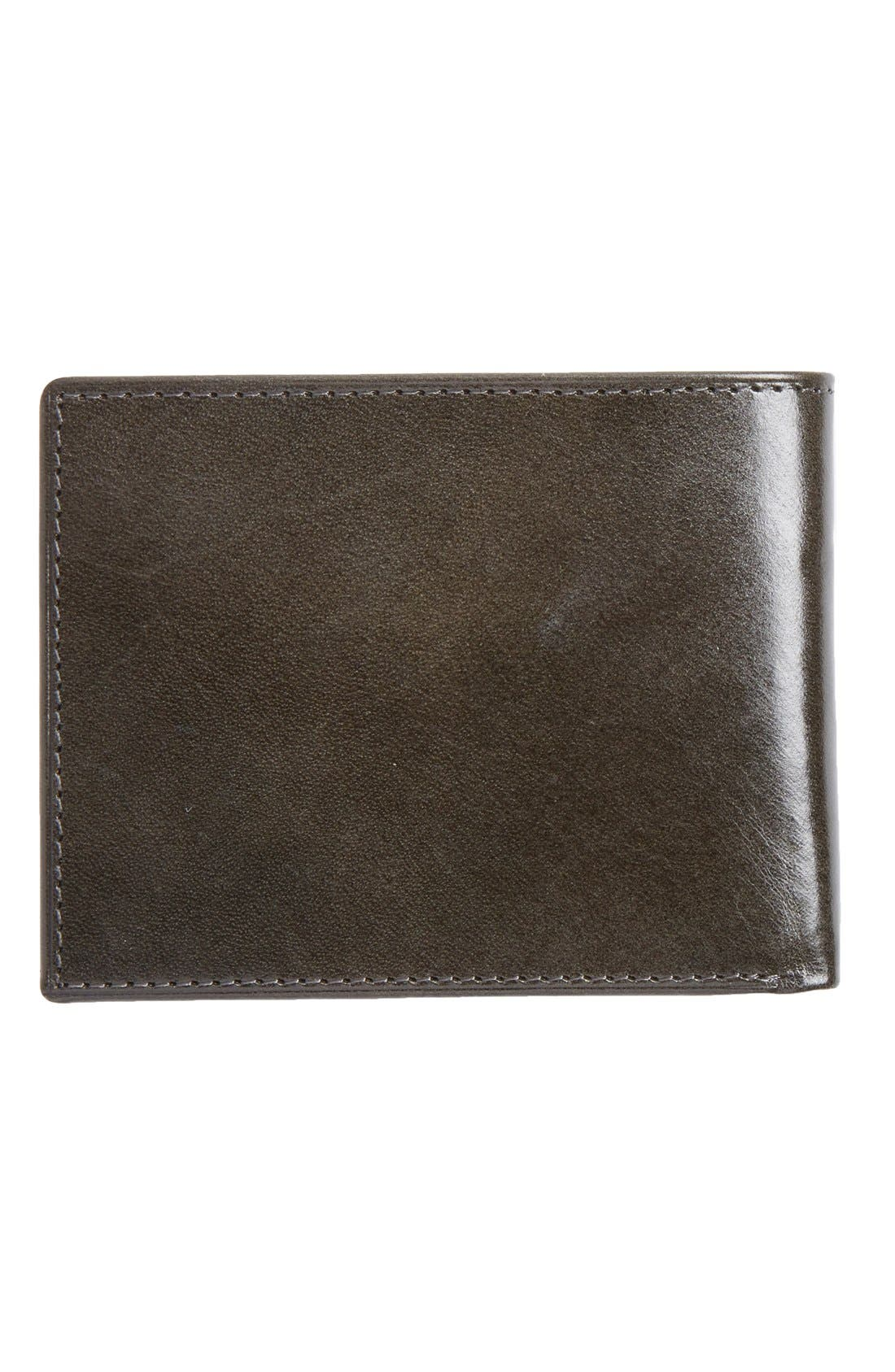 Alternate Image 3  - Johnston & Murphy Slimfold Leather Wallet