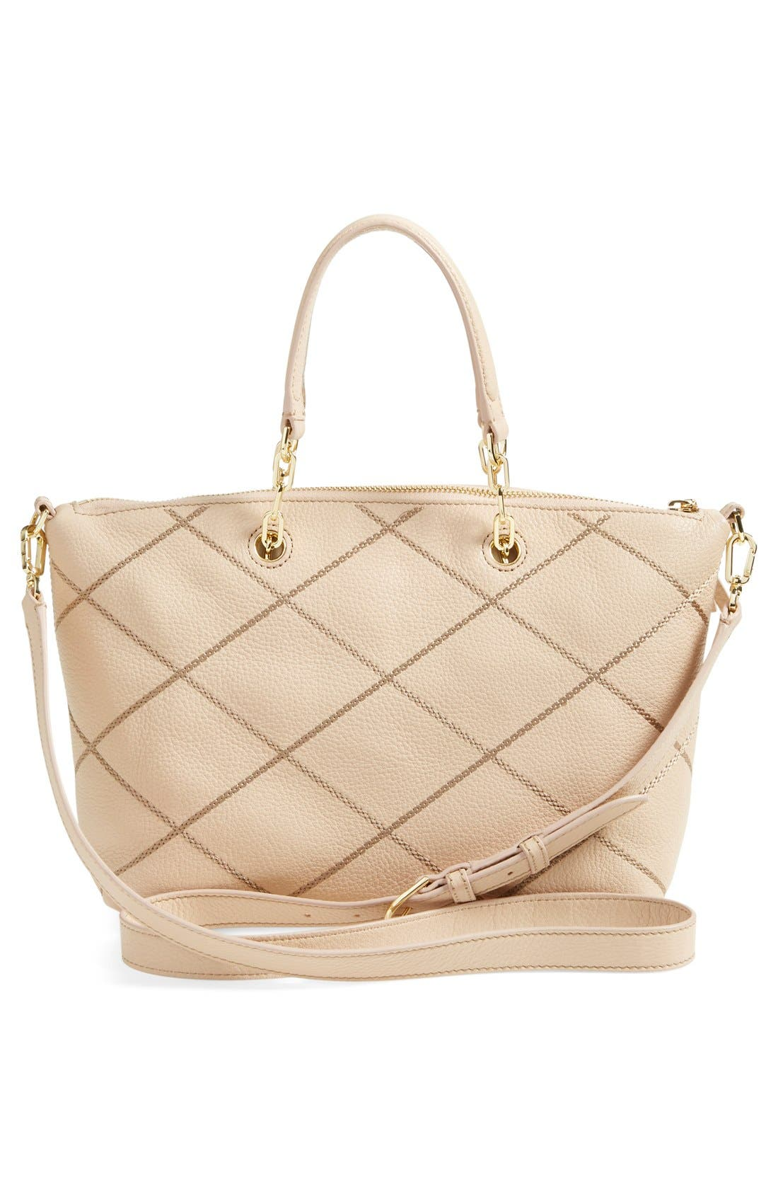 Alternate Image 3  - Tory Burch 'Small Stitch' Leather Satchel (Nordstrom Exclusive)