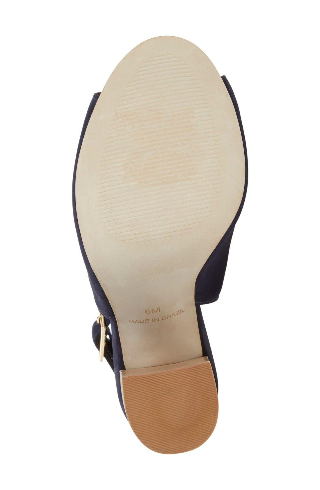 Alternate Image 4  - Steve Madden 'Claara' Block Heel Sandal (Women)