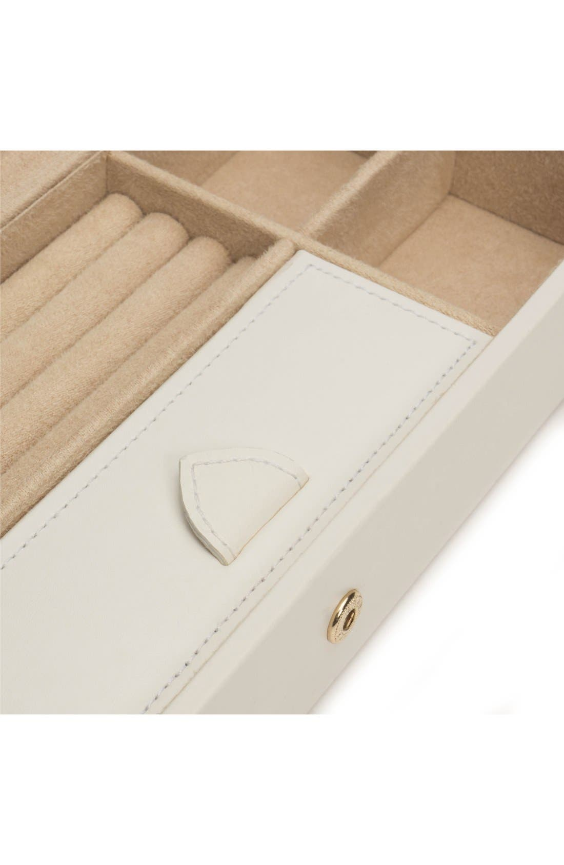 'Marrakesh' Jewelry Box,                             Alternate thumbnail 3, color,                             Cream