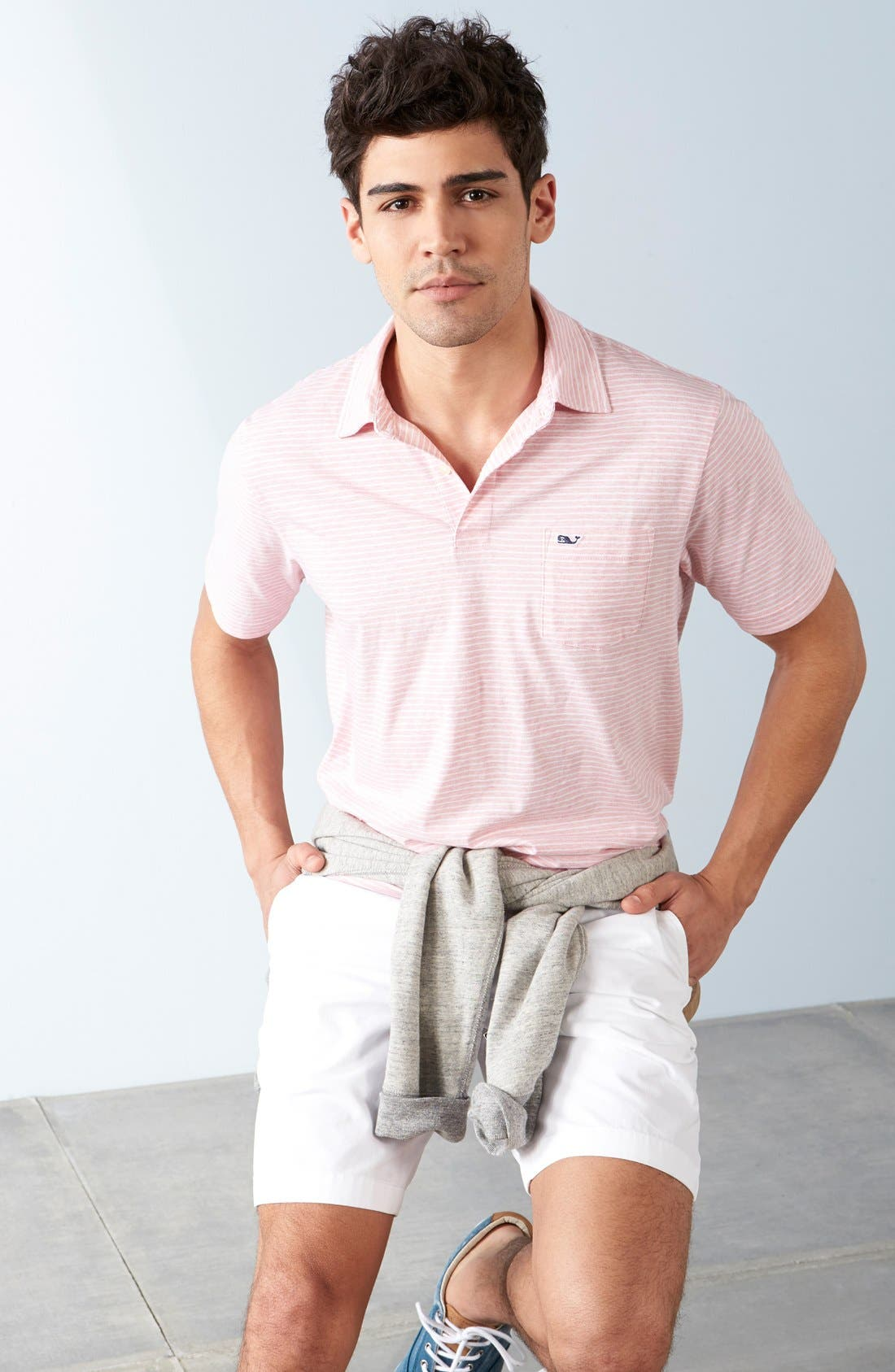 Alternate Image 8  - Vineyard Vines 'Feeder Stripe' Pima Cotton Polo