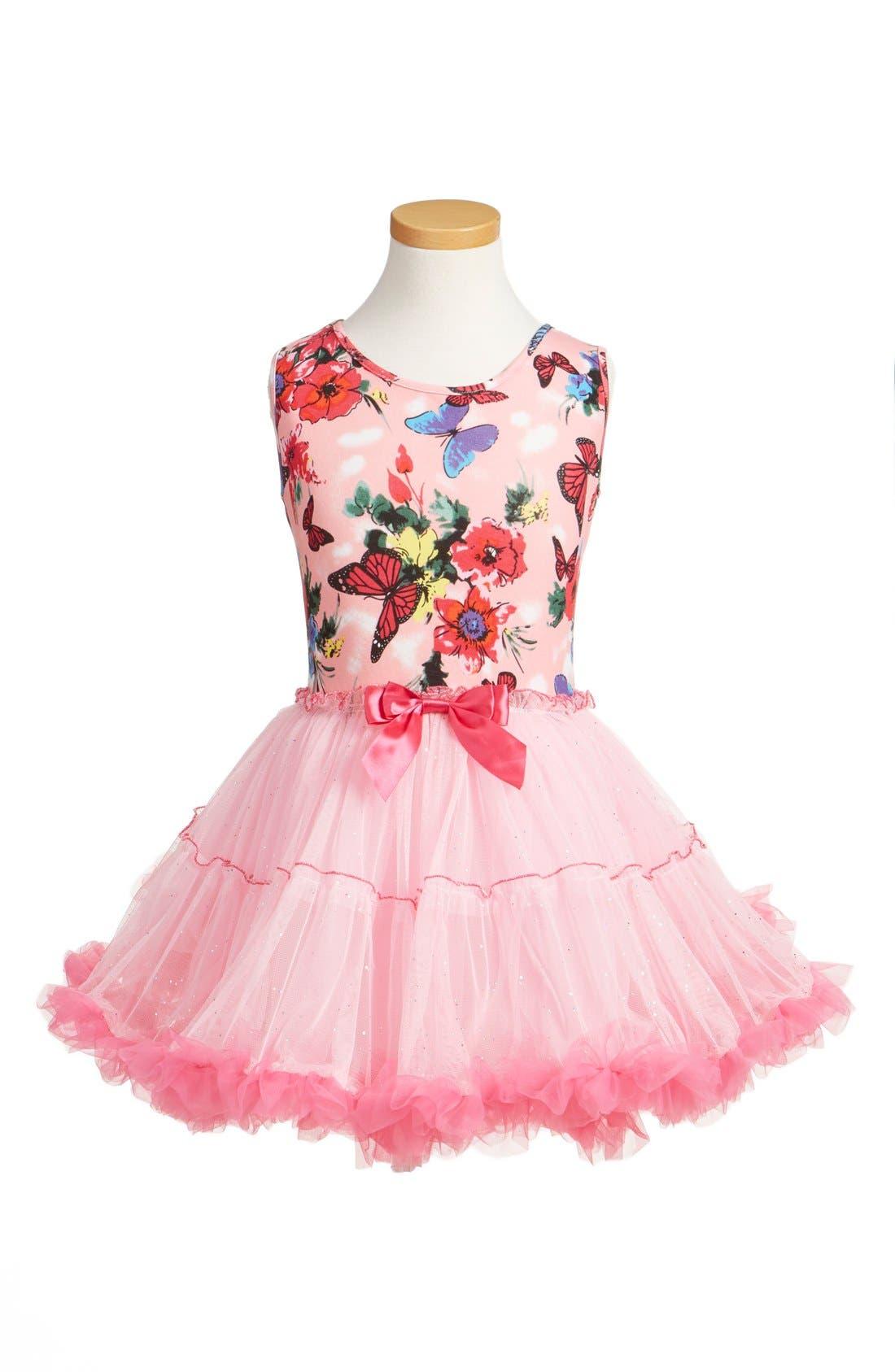 POPATU Butterfly Print Tutu Dress