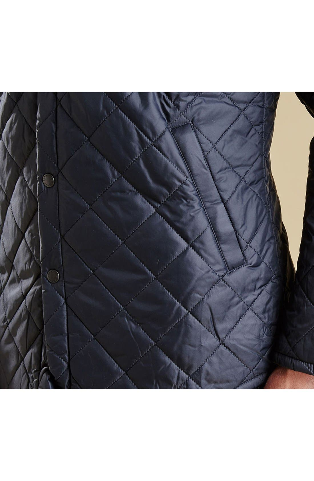 Alternate Image 6  - Barbour 'Akenside' Regular Fit Quilted Jacket