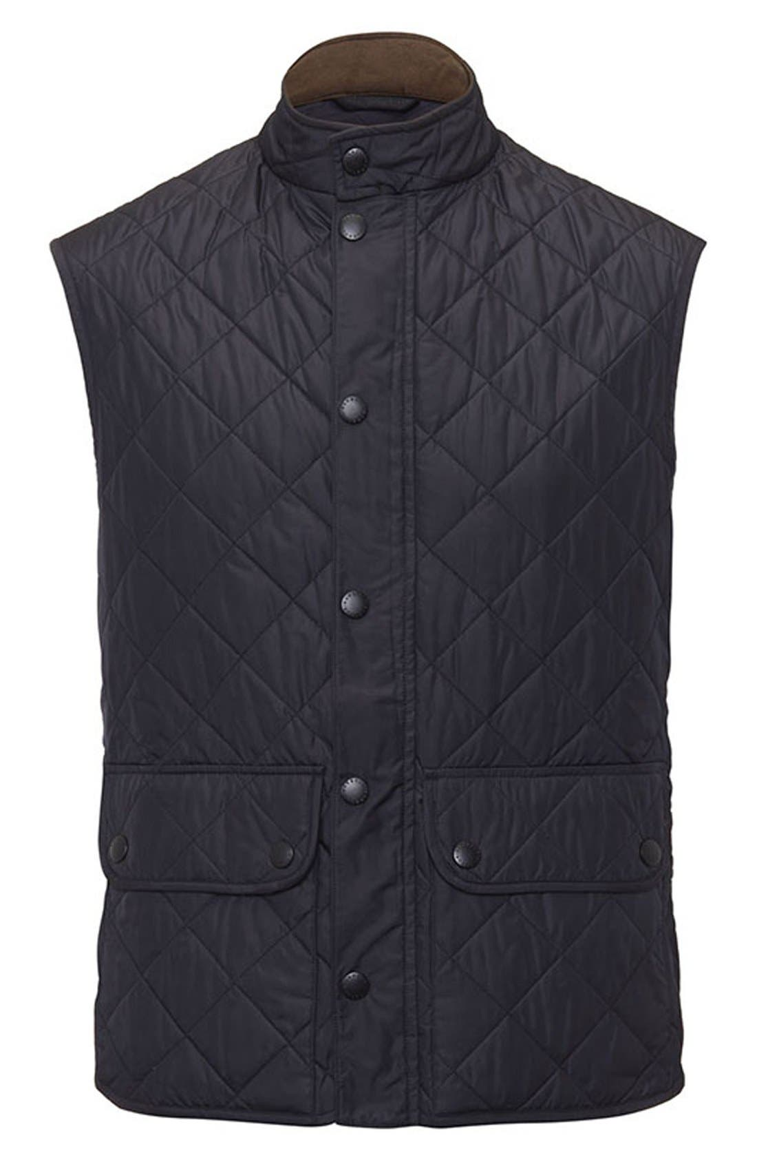 Alternate Image 4  - Barbour 'Lowerdale' Trim Fit Quilted Vest