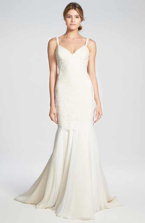 Katie May  Monaco  Lace   Chiffon  Wedding Dresses   Nordstrom   Nordstrom. Off The Rack Wedding Dresses Nyc. Home Design Ideas