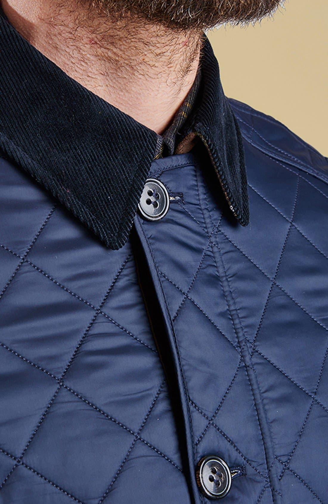 Alternate Image 9  - Barbour 'Fortnum' Regular Fit Quilted Jacket