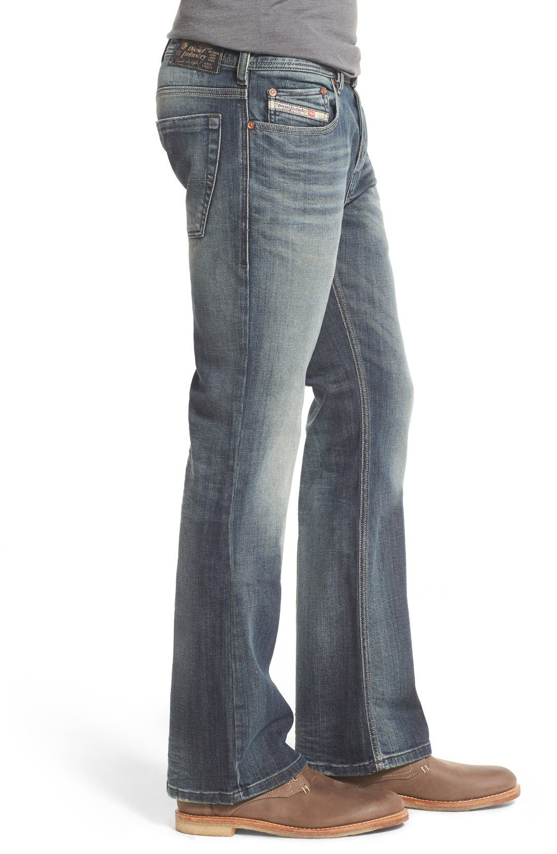 Alternate Image 3  - DIESEL® 'Zathan' Bootcut Jeans (885K)