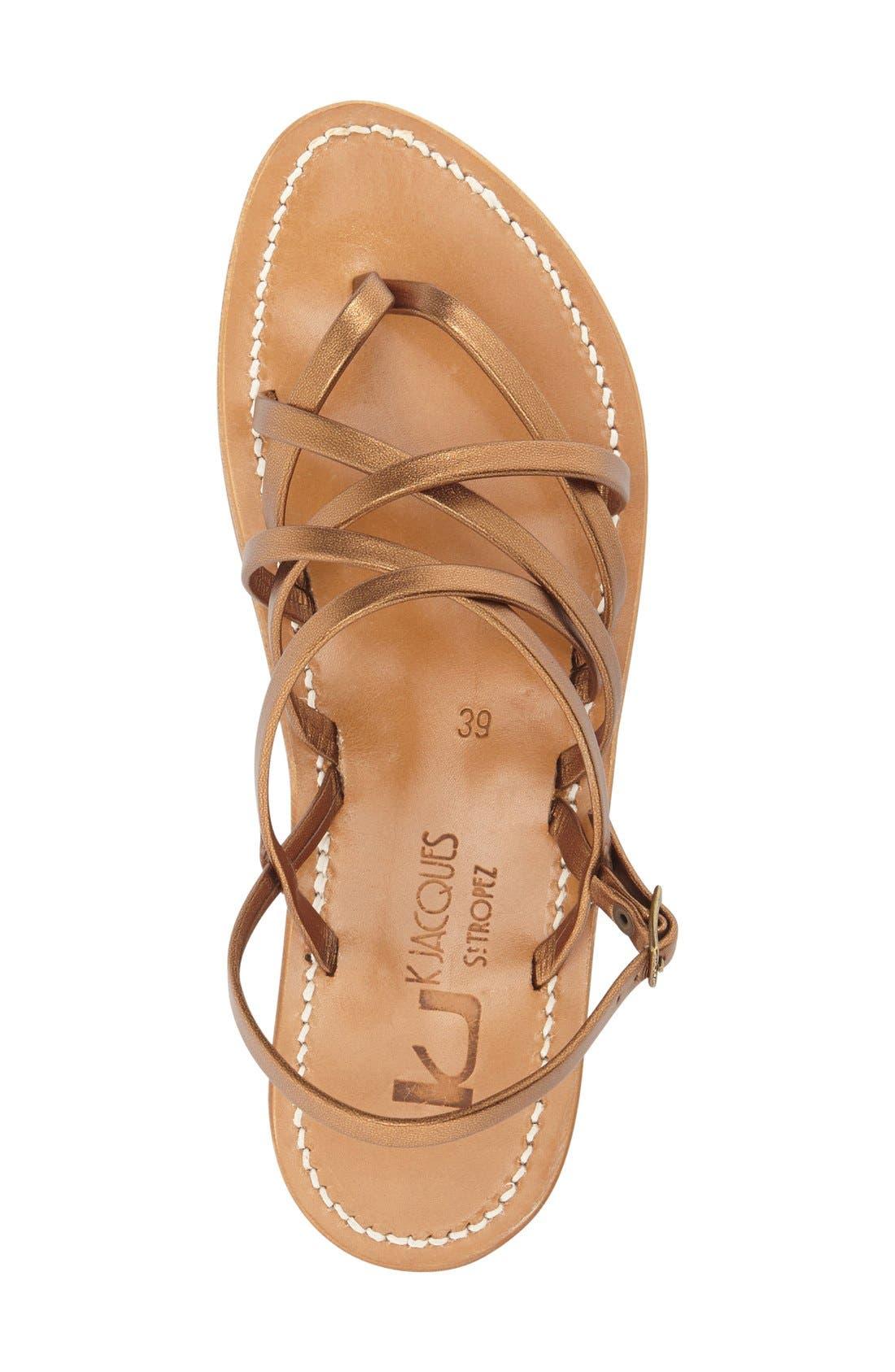 Alternate Image 3  - K.Jacques St. Tropez Strappy Flat Sandal (Women)