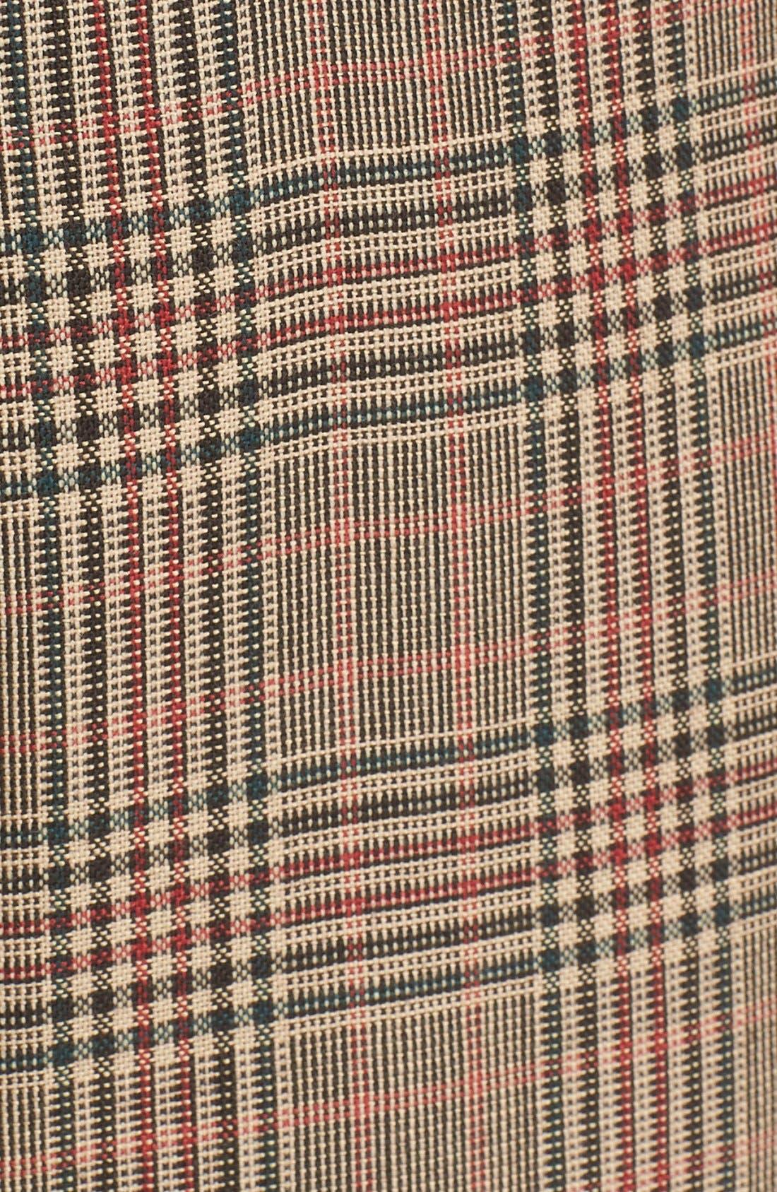 Alternate Image 6  - 3.1 Phillip Lim Pleated Glen Plaid Crop Wool Pants