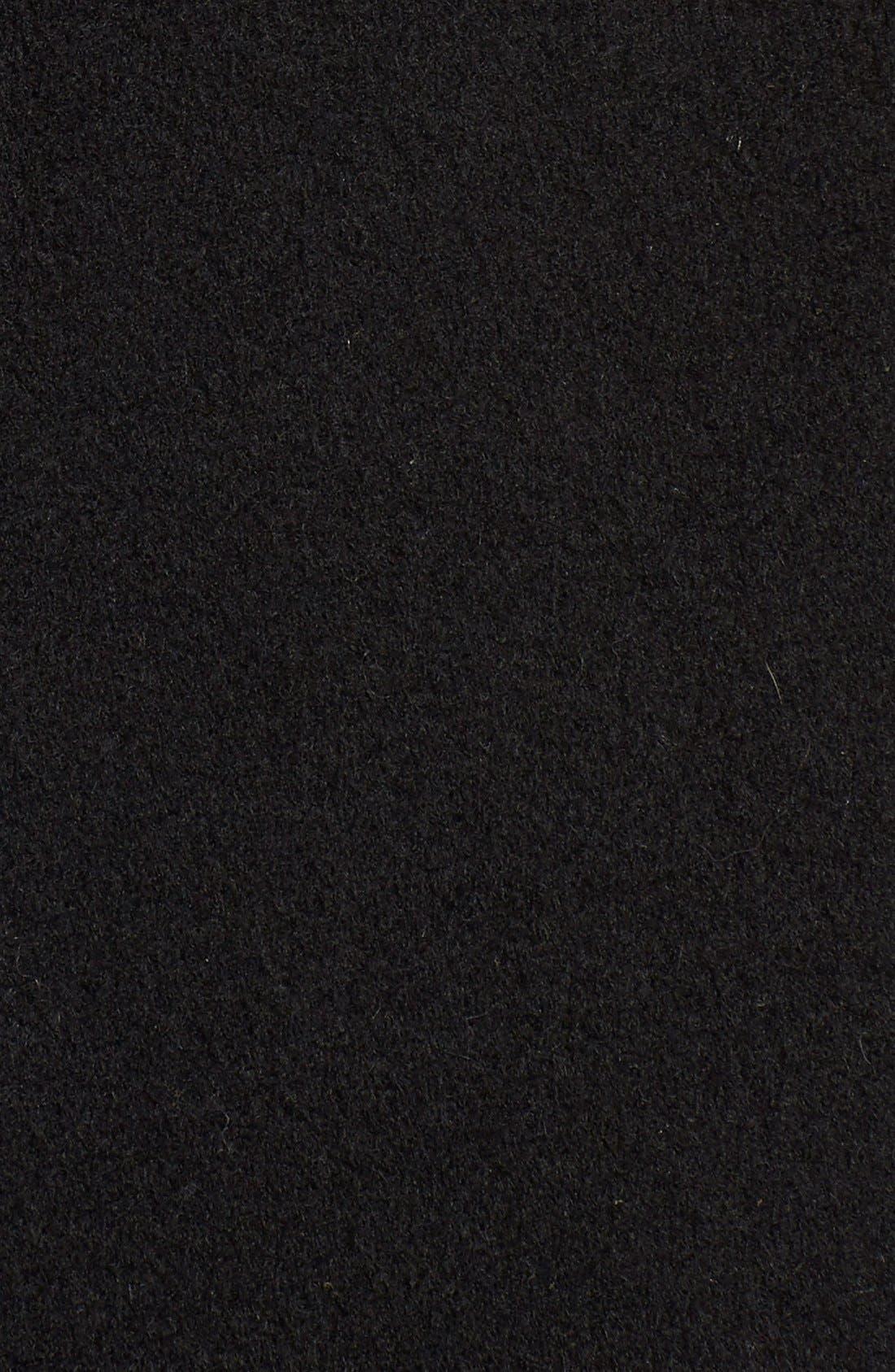 Alternate Image 5  - Vince Drape Neck Wool Blend Coat