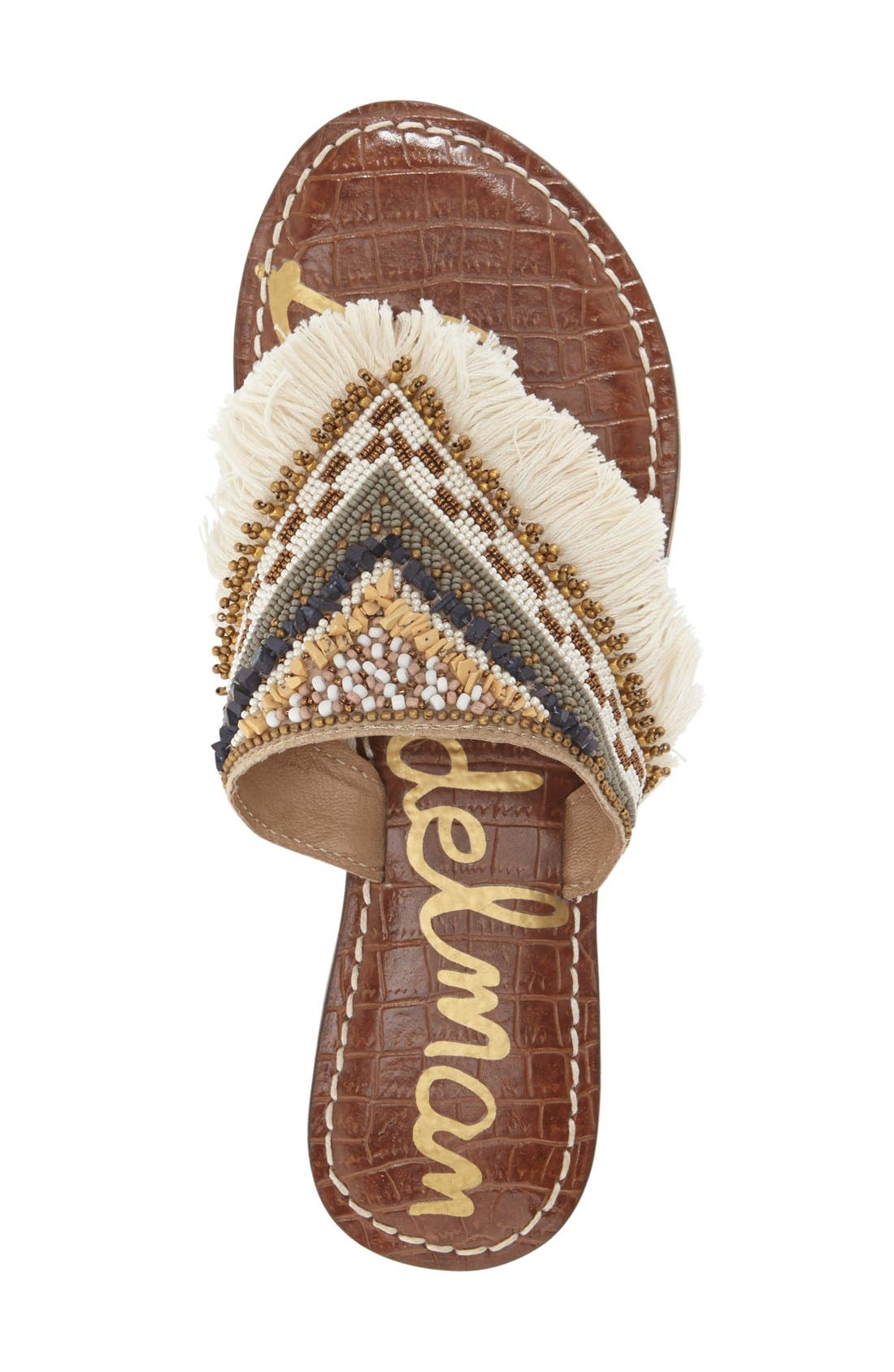 Alternate Image 3  - Sam Edelman 'Kennedy' Beaded Sandal (Women)
