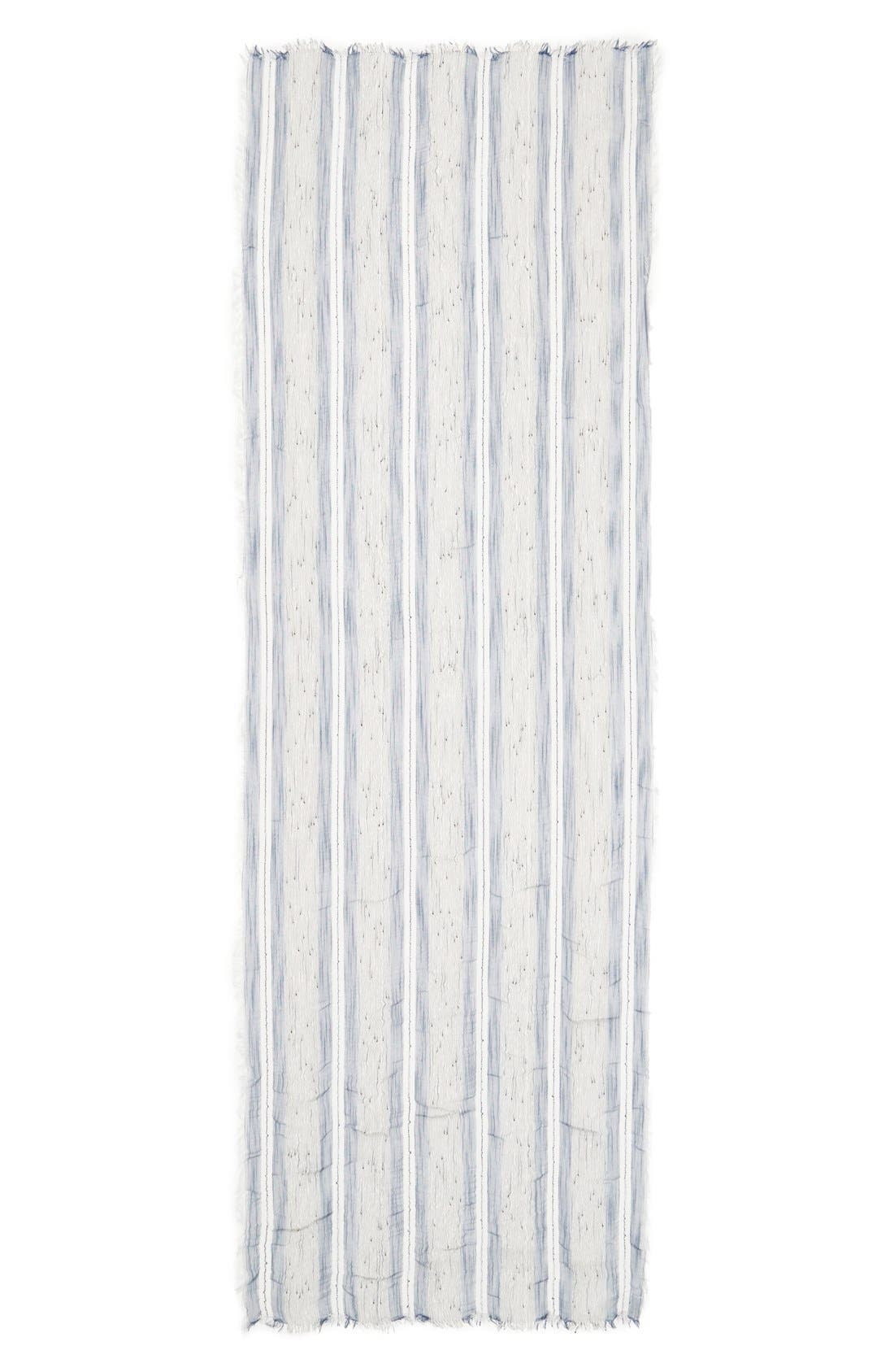 Alternate Image 2  - Sole Society Stripe Scarf