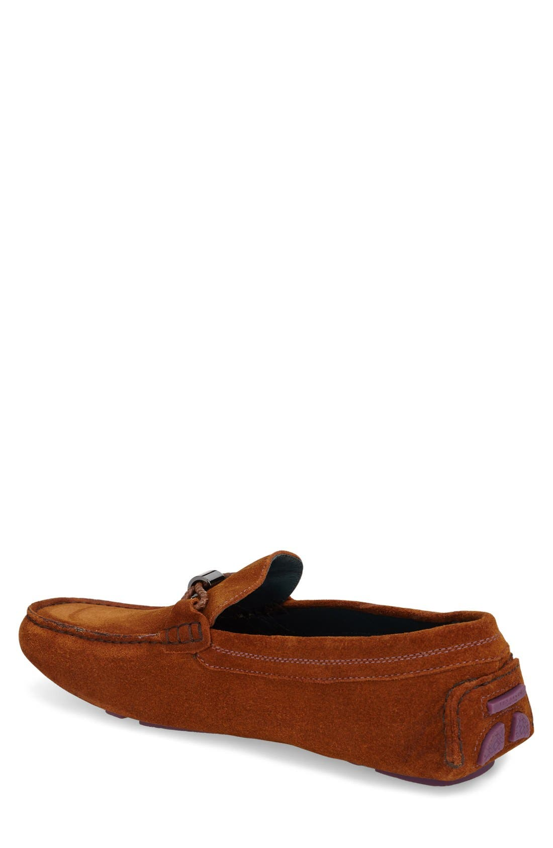 'Carlsun 2' Driving Shoe,                             Alternate thumbnail 2, color,                             Tan Suede