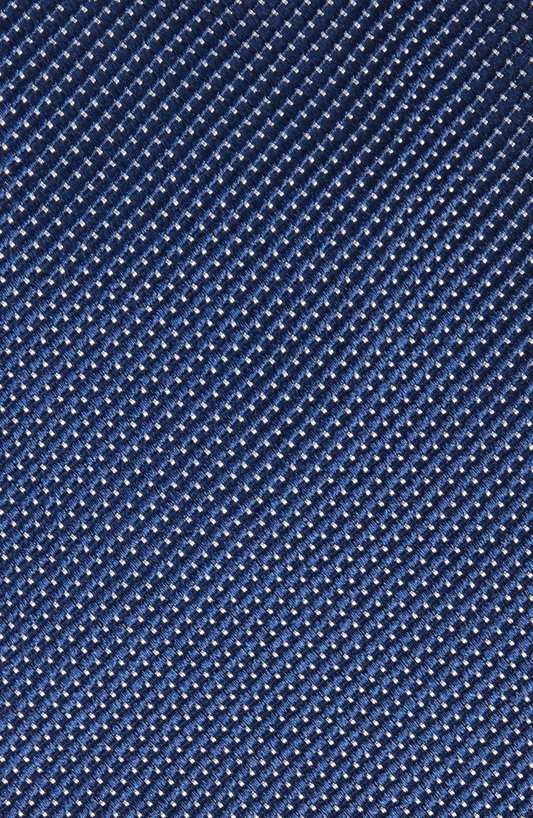 Alternate Image 2  - Nordstrom Men's Shop Solid Silk Tie