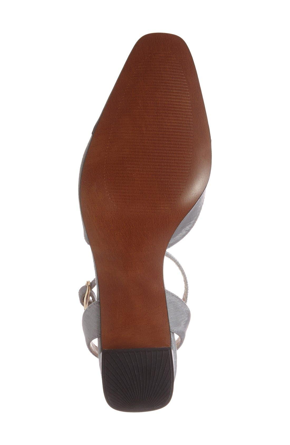 Alternate Image 4  - Topshop 'Jewel' Cap Toe Block Heel Pump (Women)