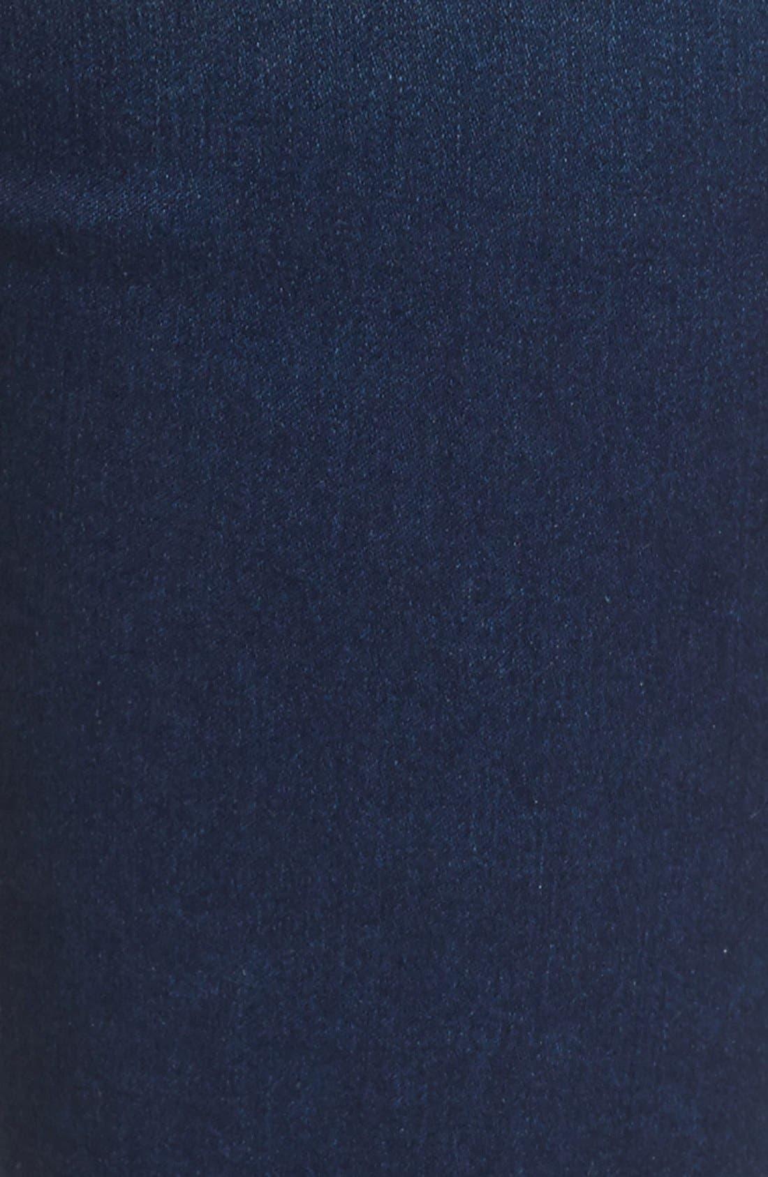 'Piper' Skinny Jeans,                             Alternate thumbnail 7, color,                             Royal Beach