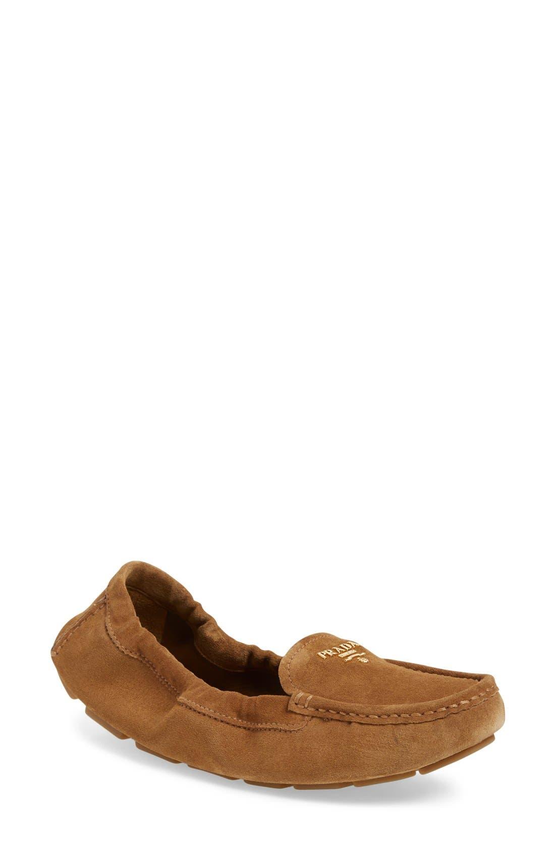 Alternate Image 1 Selected - Prada Driving Shoe (Women)