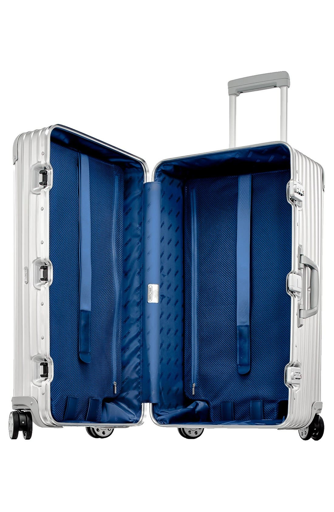 Topas 28-Inch Sport Multiwheel<sup>®</sup> Aluminum Packing Case,                             Alternate thumbnail 2, color,                             Silver