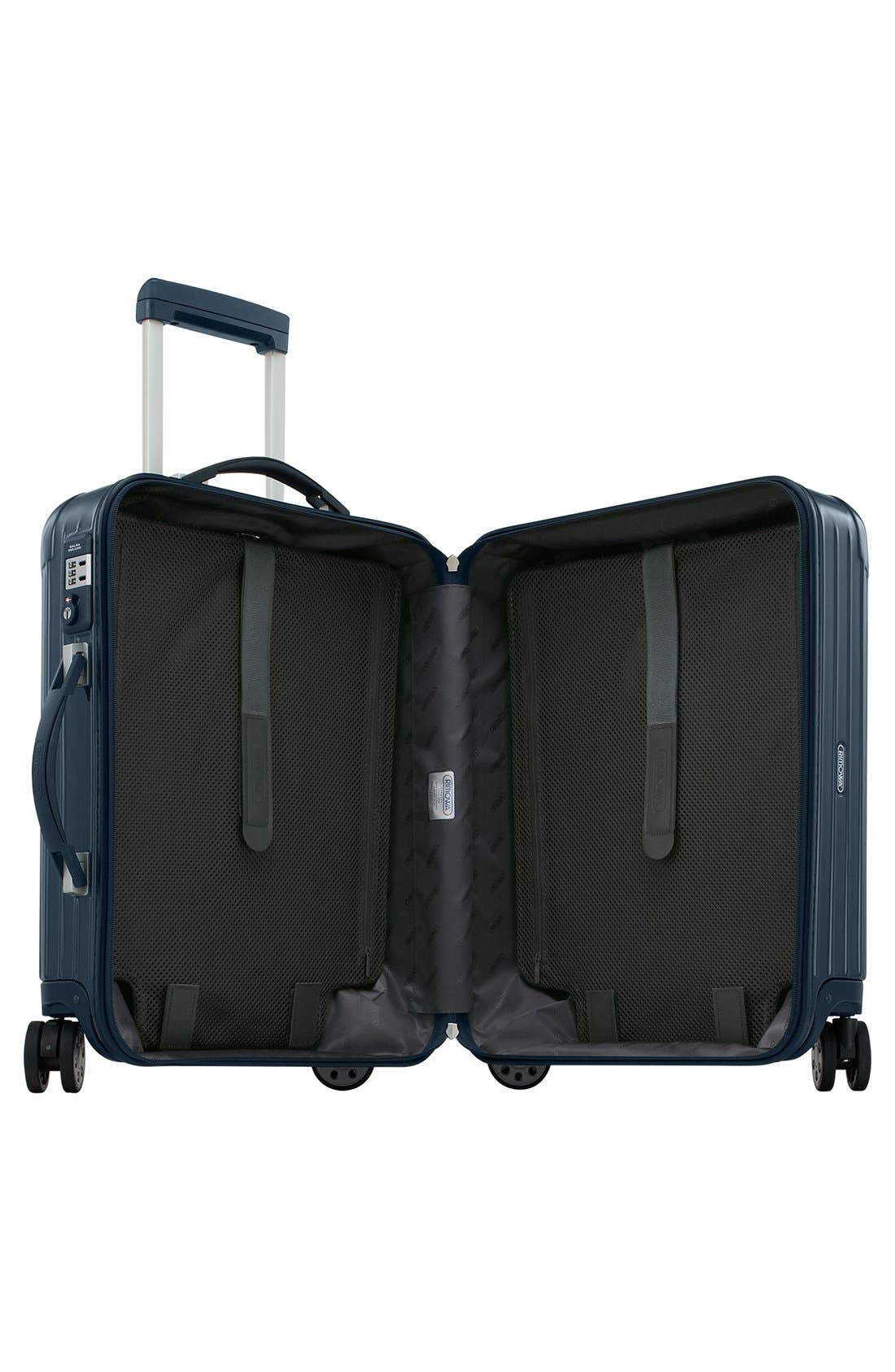 Salsa Deluxe 22-Inch Cabin Multiwheel<sup>®</sup> Carry-On,                             Alternate thumbnail 3, color,                             Yachting Blue
