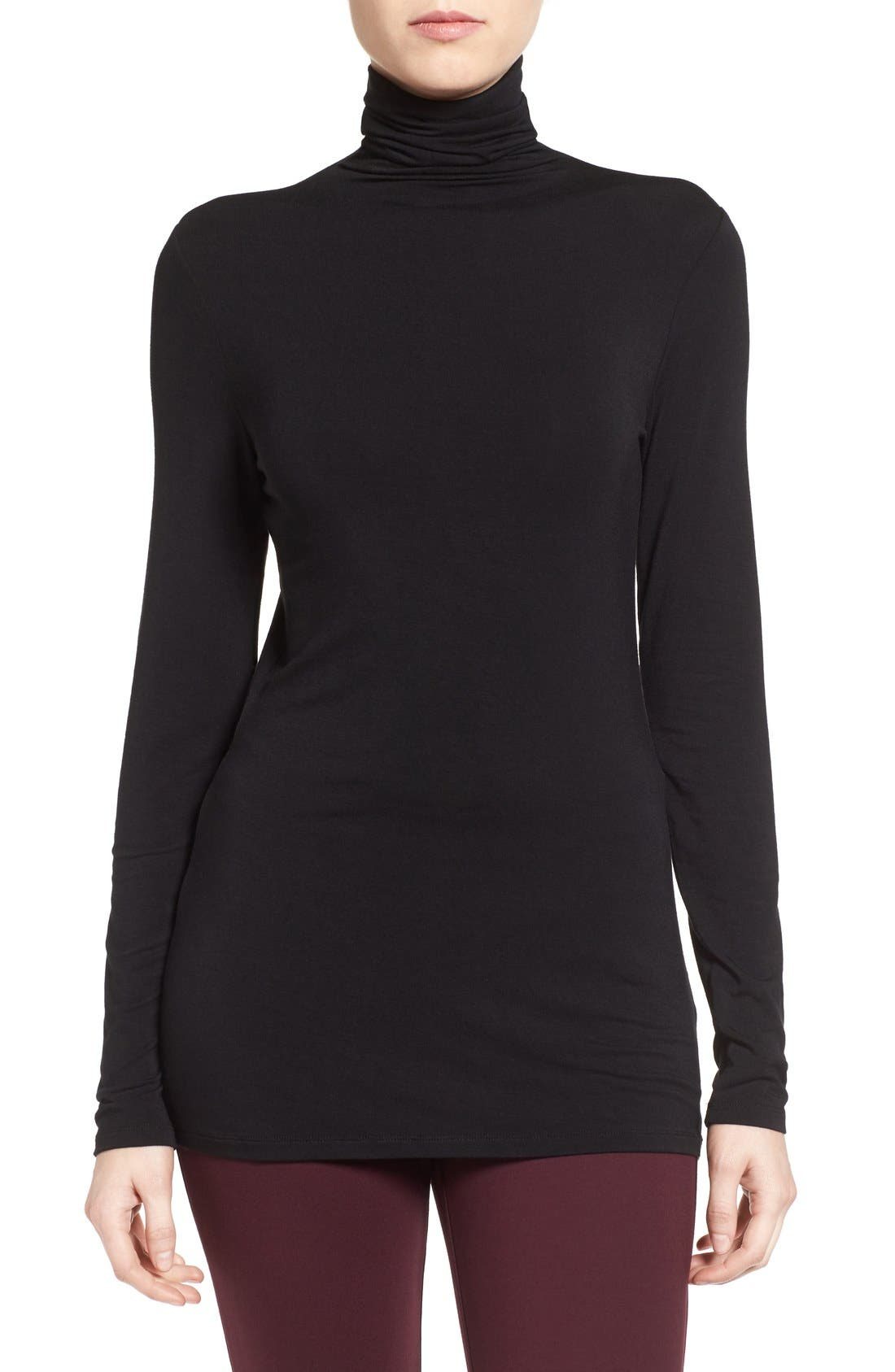 Women's Black Turtleneck Tops & Tees | Nordstrom
